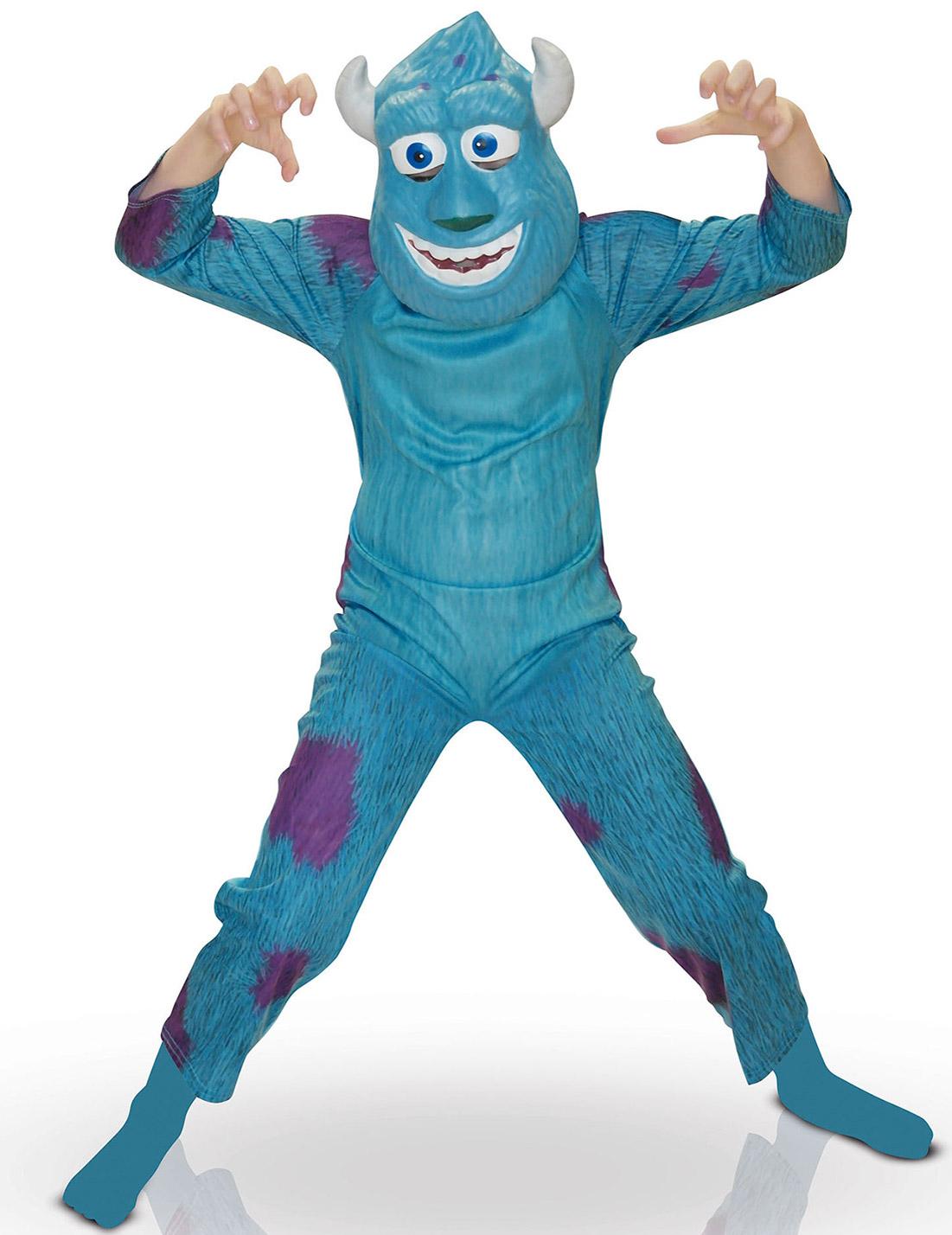 Monster Uni Kostum.Sully Kinderkostum Die Monster Uni Blau Gunstige Faschings Kostume Bei Karneval Megastore
