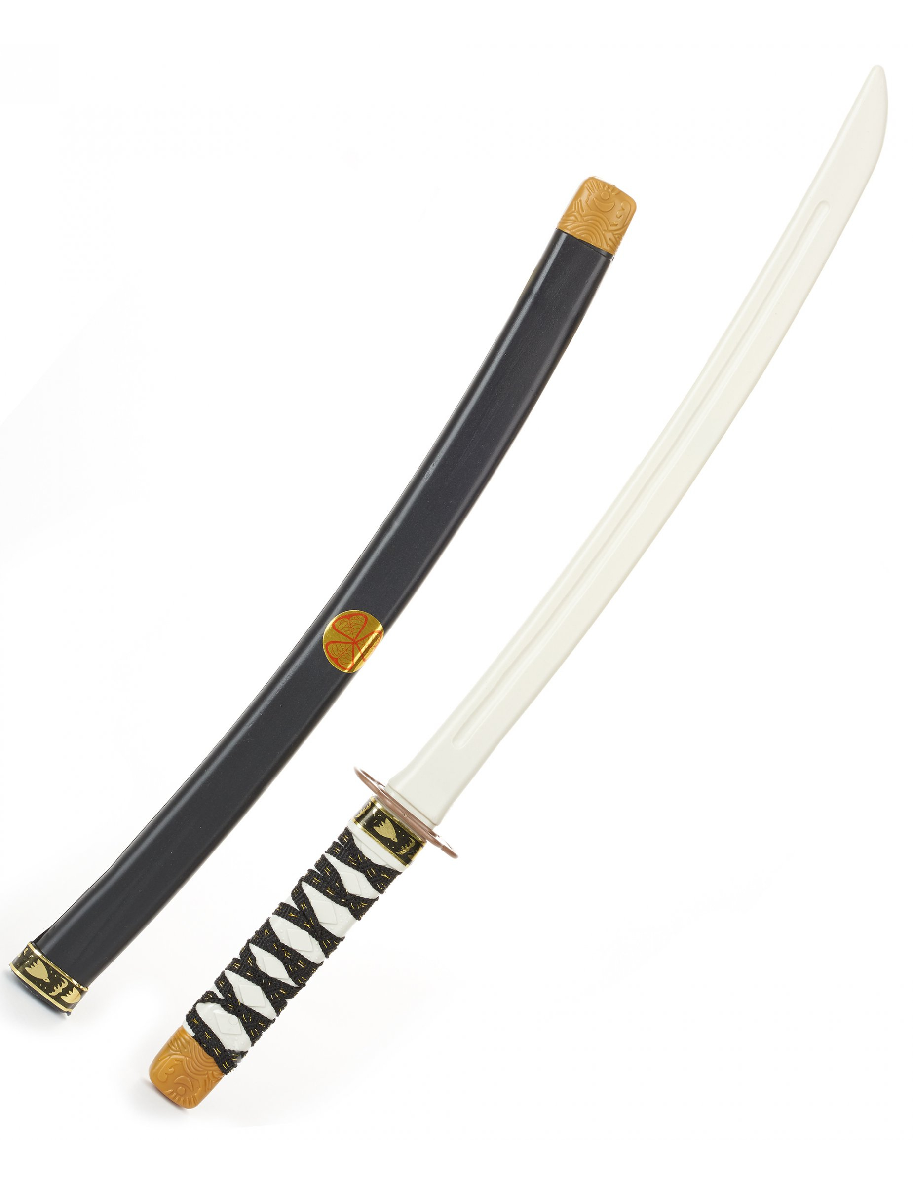 Ninja Schwert Fur Kinder Sabel Grau Schwarz 60cm Gunstige