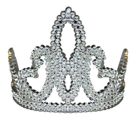 Prinzessinnen Krone Mit Strasssteinen Fur Madchen Silber Gunstige