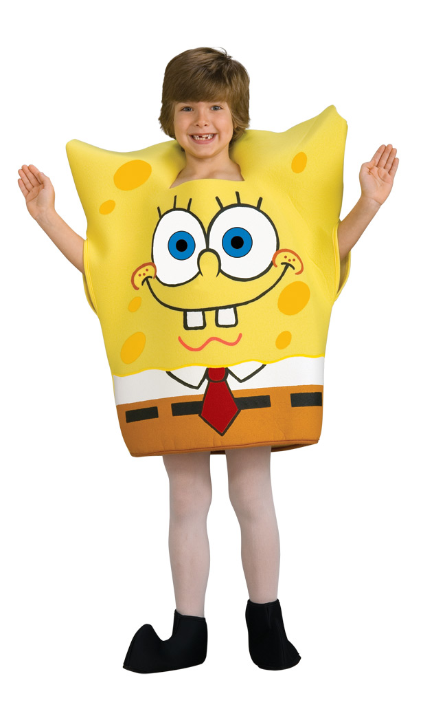 Spongebob kinderkost m lizenzware gelb weiss g nstige - Bob l eponge halloween ...