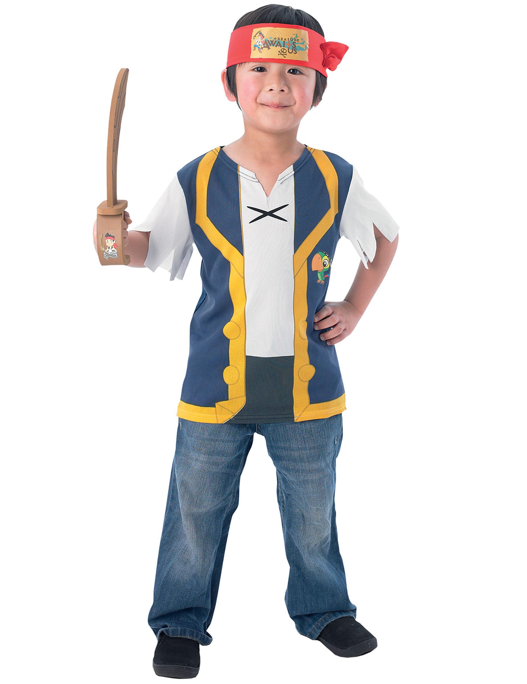 jake und die nimmerlandpiraten kostümset für kinder