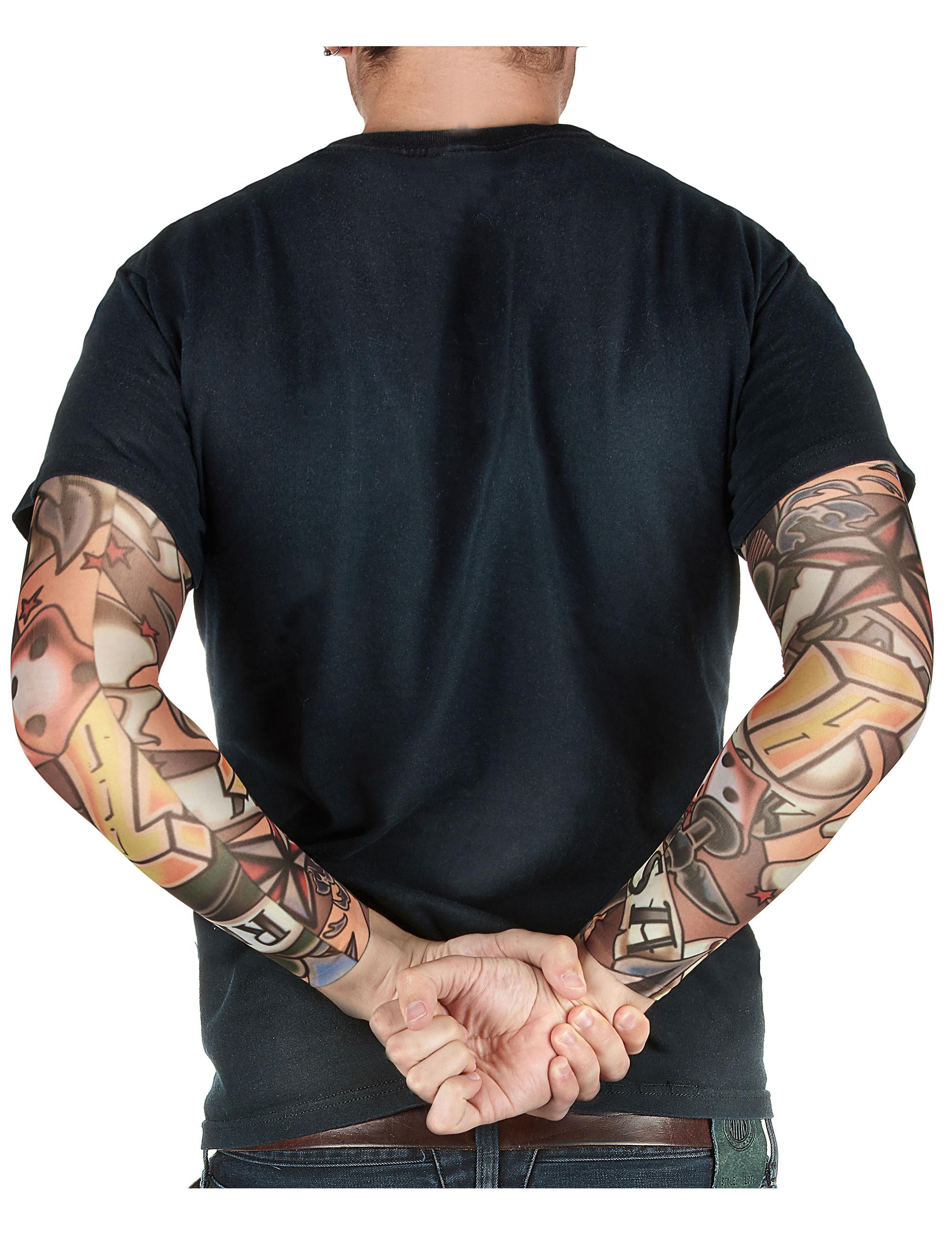 tattoo rmel haut schwarz g nstige faschings accessoires zubeh r bei karneval megastore. Black Bedroom Furniture Sets. Home Design Ideas