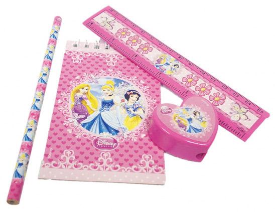 Disney Prinzessinnen Schreibwaren-Set 4-teilig Kindergeburtstag-Mitbringsel bunt , günstige ...