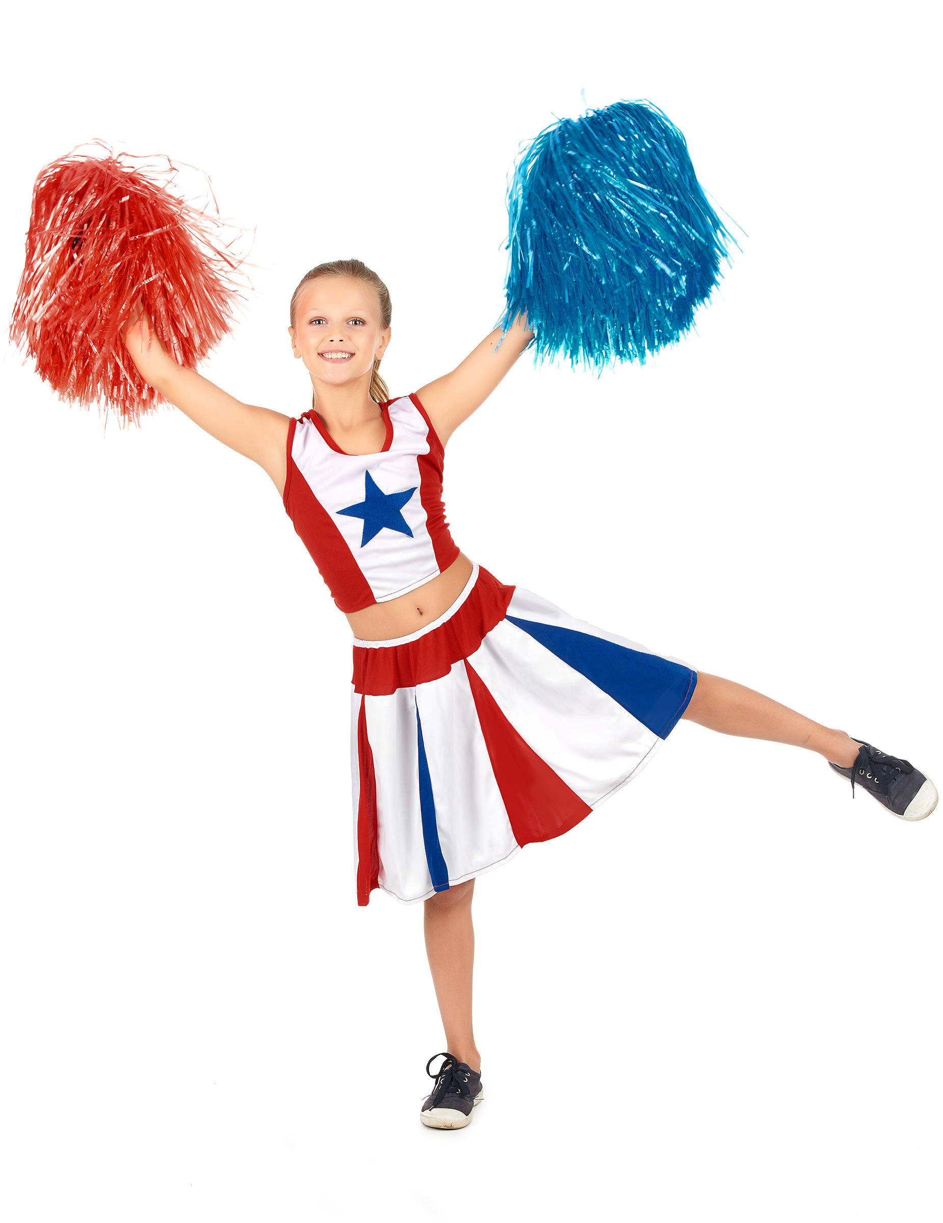 Cheerleader Kostum Fur Madchen Gunstige Faschings Kostume Bei