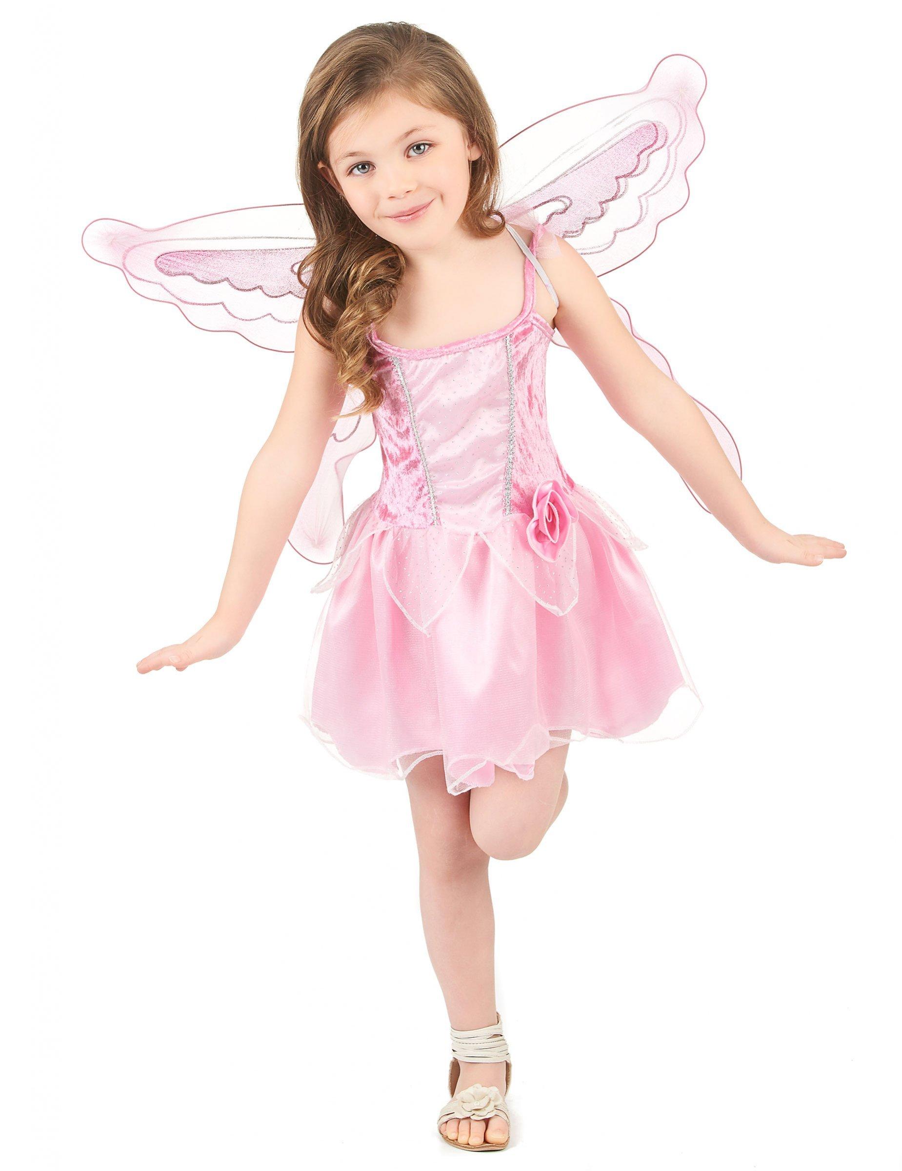 Schmetterlings Madchenkostum Fee Marchenkostum Rosa Gunstige