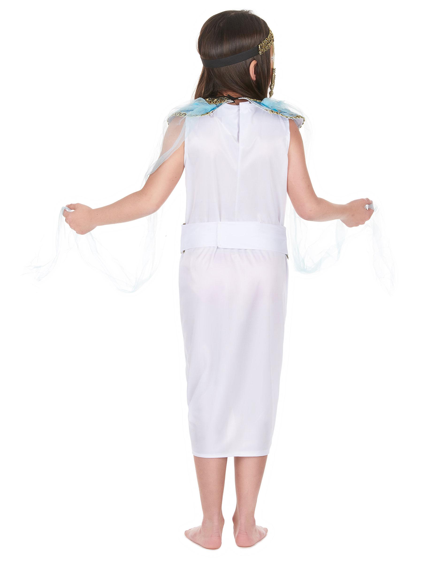 Kleopatra Kinder Kostum Blau Weiss Gold Gunstige Faschings Kostume
