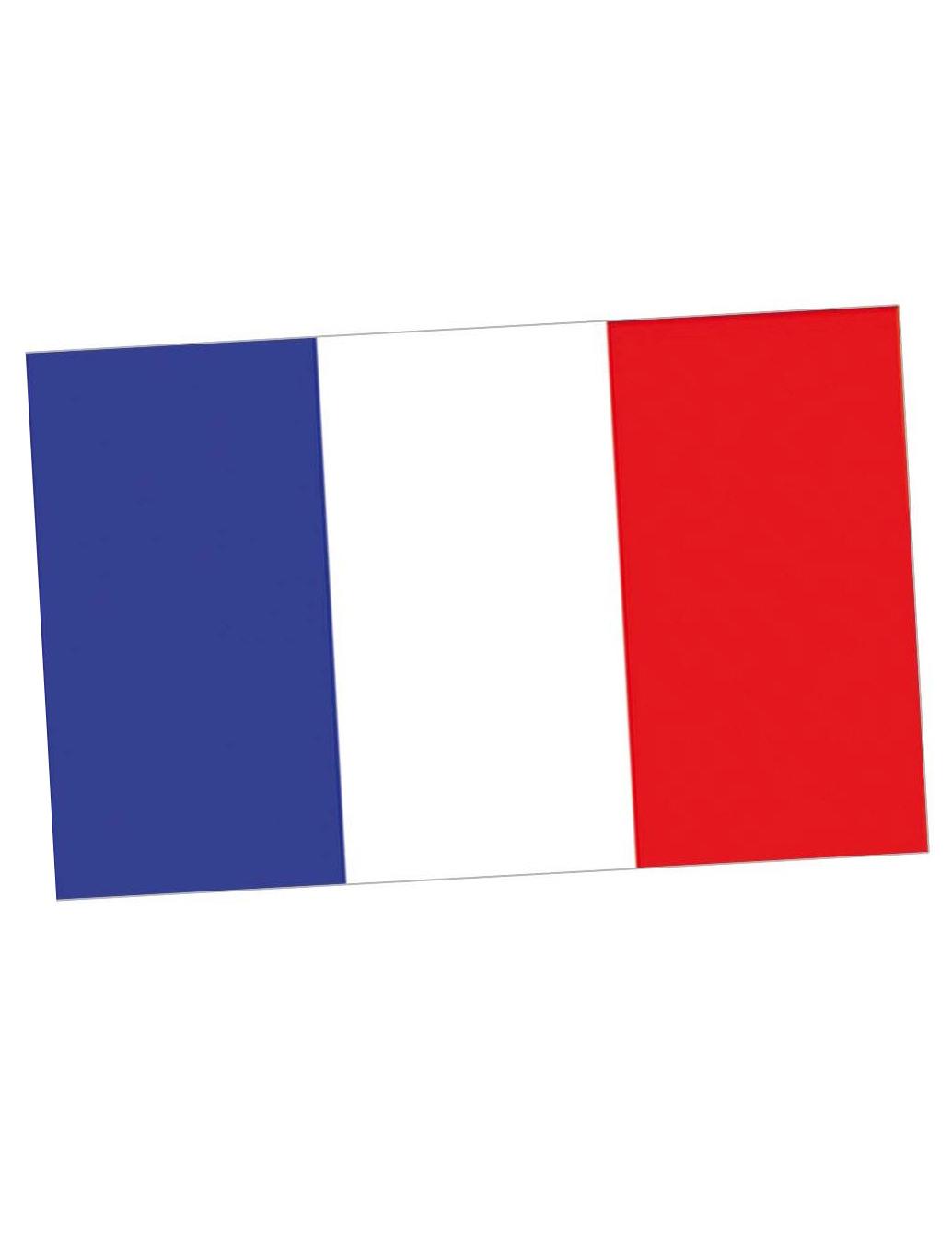Flagge Blau Rot