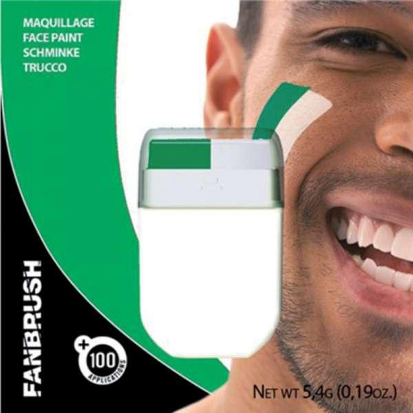 Make-up Stick Fanartikel Schminke grün-weiss