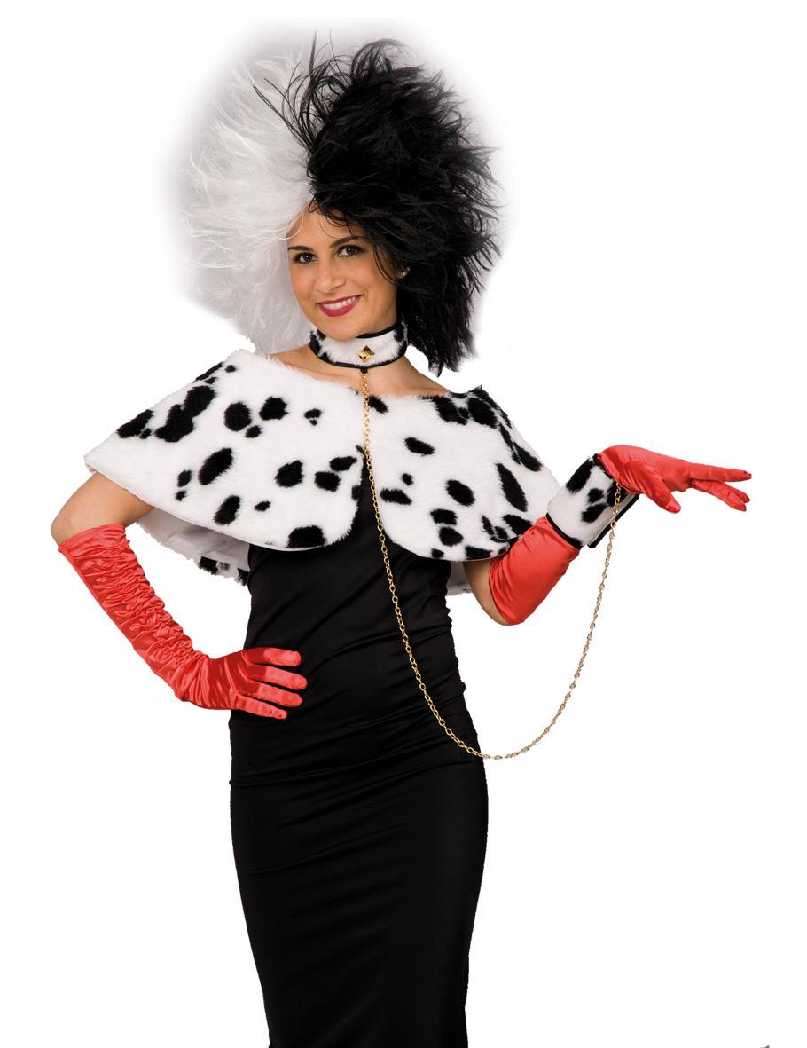 dalmatiner kost m set 3 teilig weiss schwarz g nstige faschings accessoires zubeh r bei. Black Bedroom Furniture Sets. Home Design Ideas