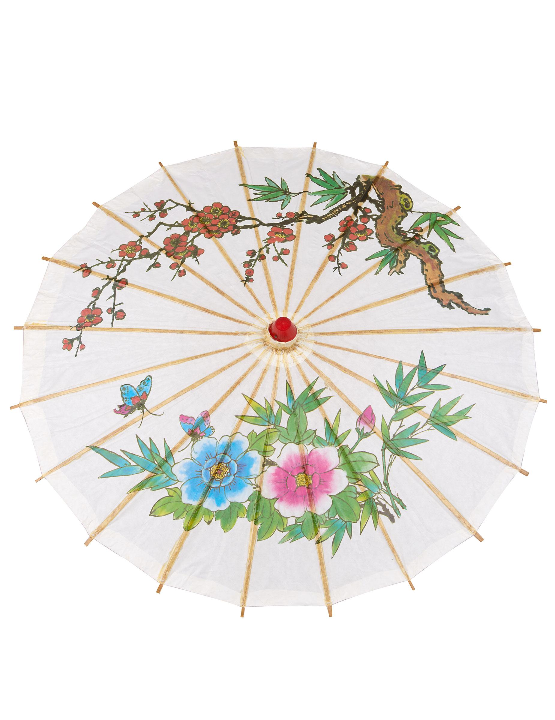 Asiatischer Sonnenschirm asiatischer sonnenschirm kostümzubehör bunt 60 cm günstige
