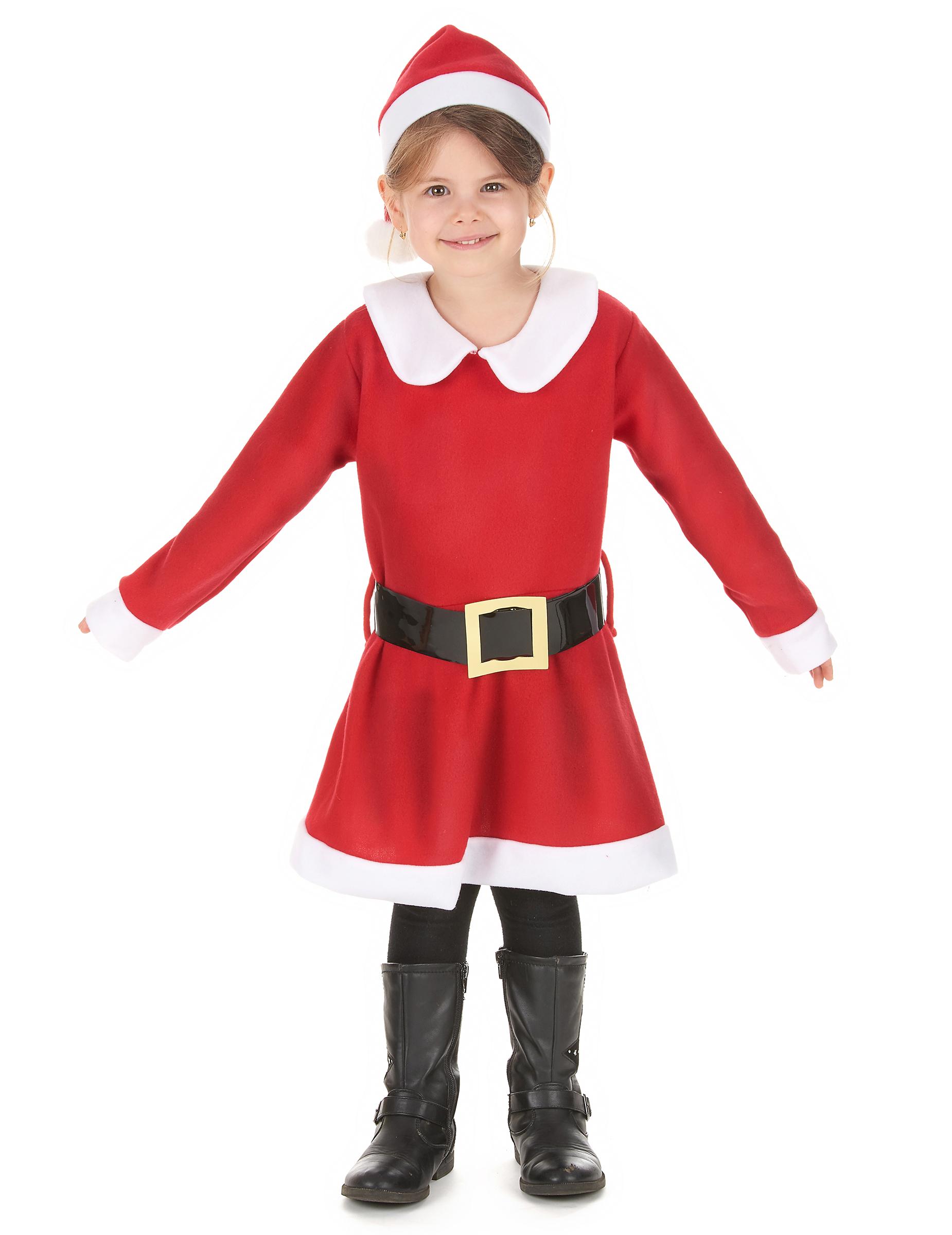 miss santa m dchenkost m weihnachten rot wei schwarz. Black Bedroom Furniture Sets. Home Design Ideas