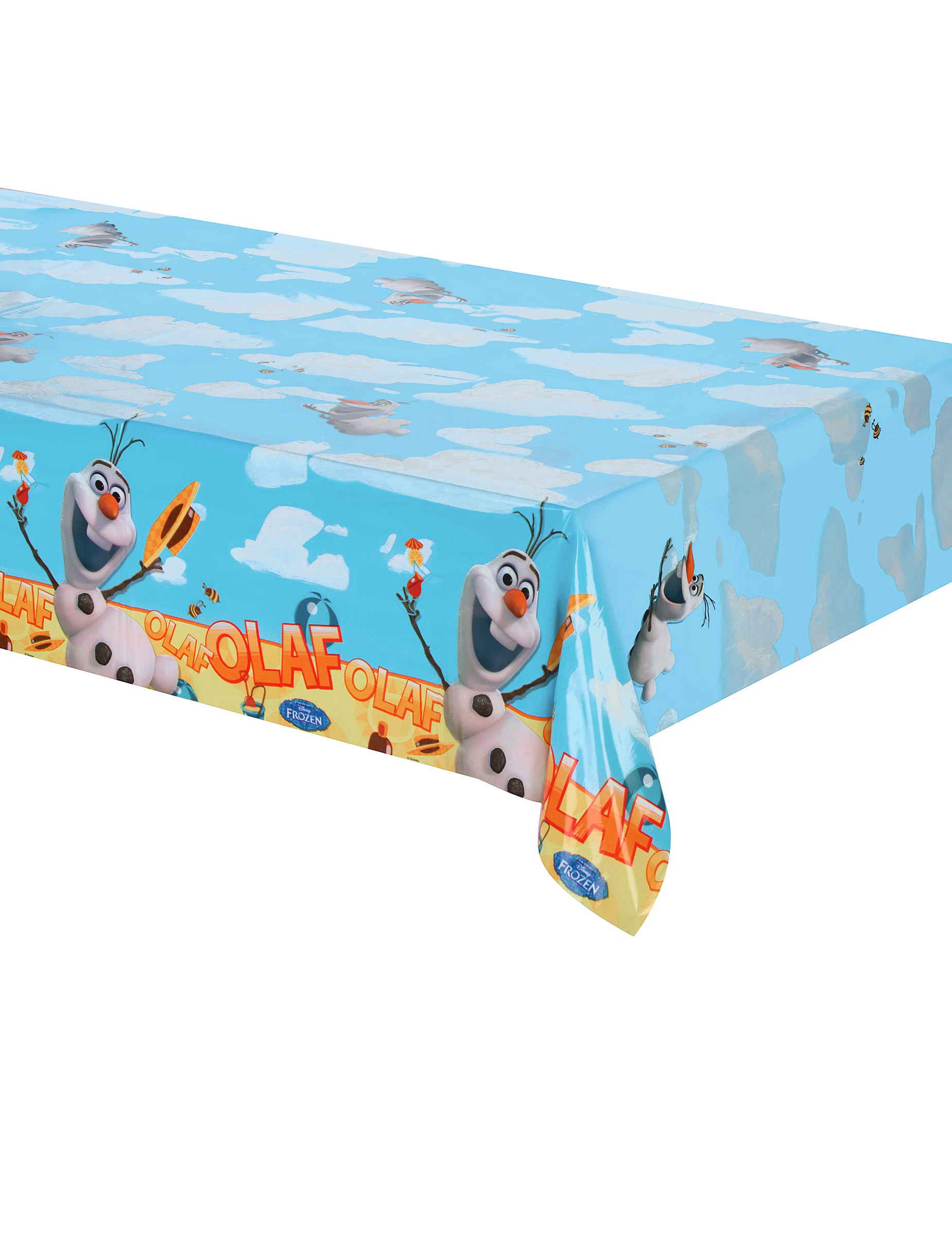 disney frozen tischdecke olaf kinderparty deko bunt. Black Bedroom Furniture Sets. Home Design Ideas