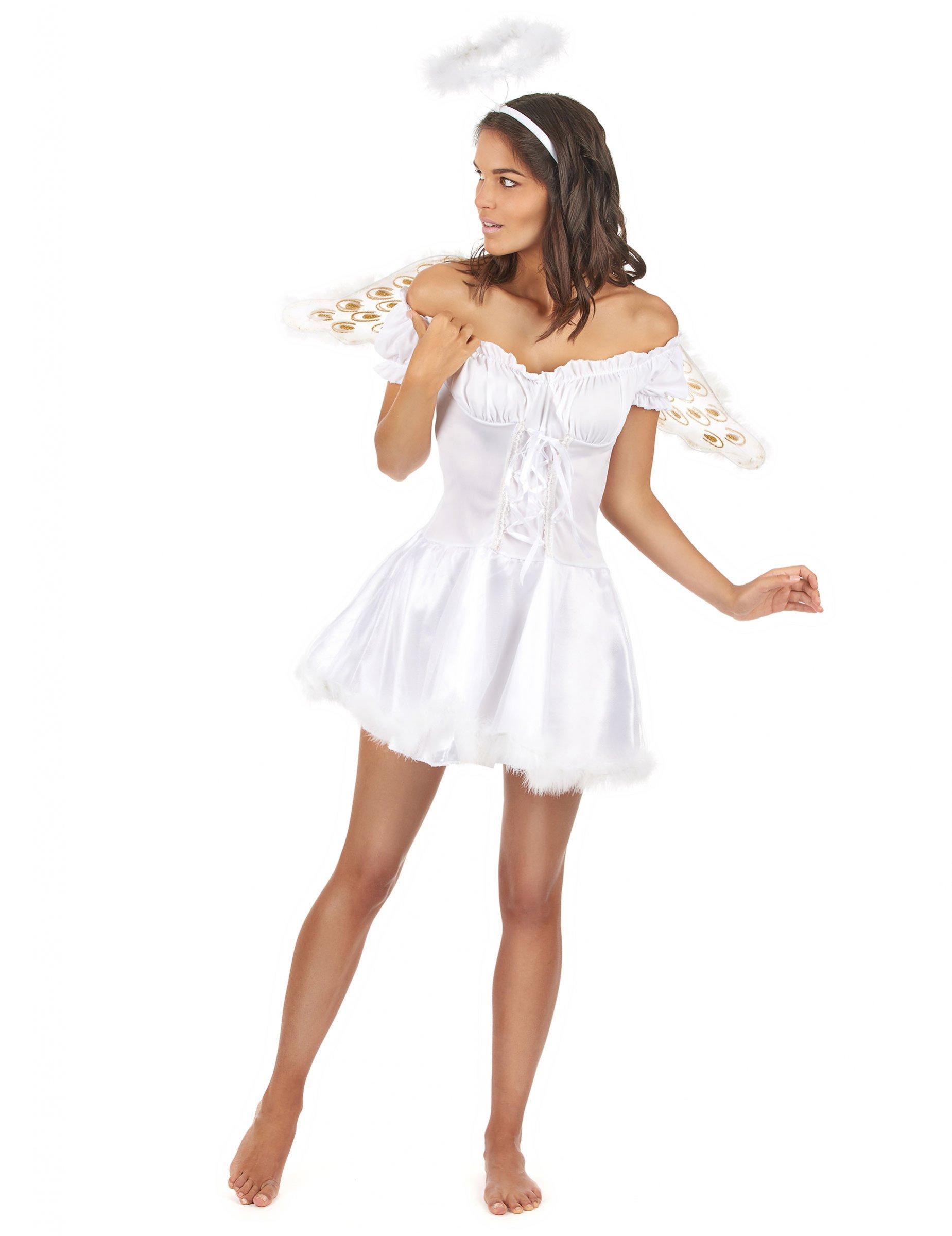Engel Erwachsenenkostum Weiss Gunstige Faschings Kostume Bei
