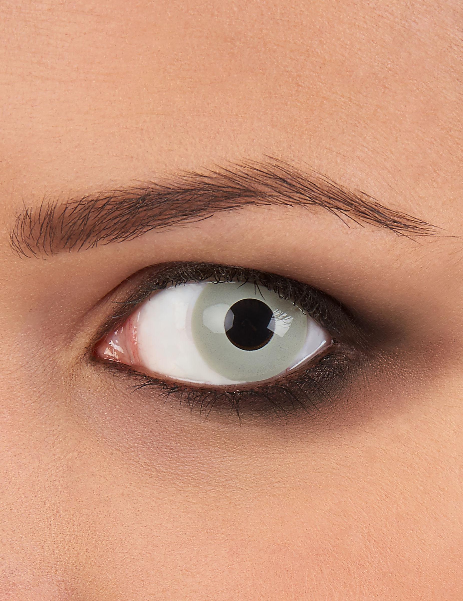 motivlinsen kontaktlinsen zombie grau g nstige faschings. Black Bedroom Furniture Sets. Home Design Ideas