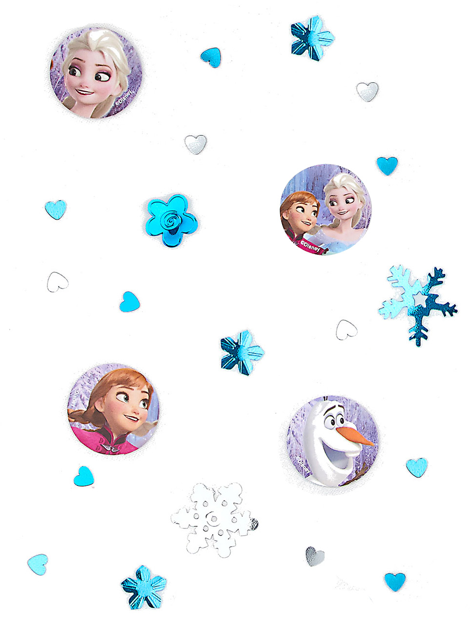 disney frozen konfetti party deko blau bunt 34g g nstige. Black Bedroom Furniture Sets. Home Design Ideas