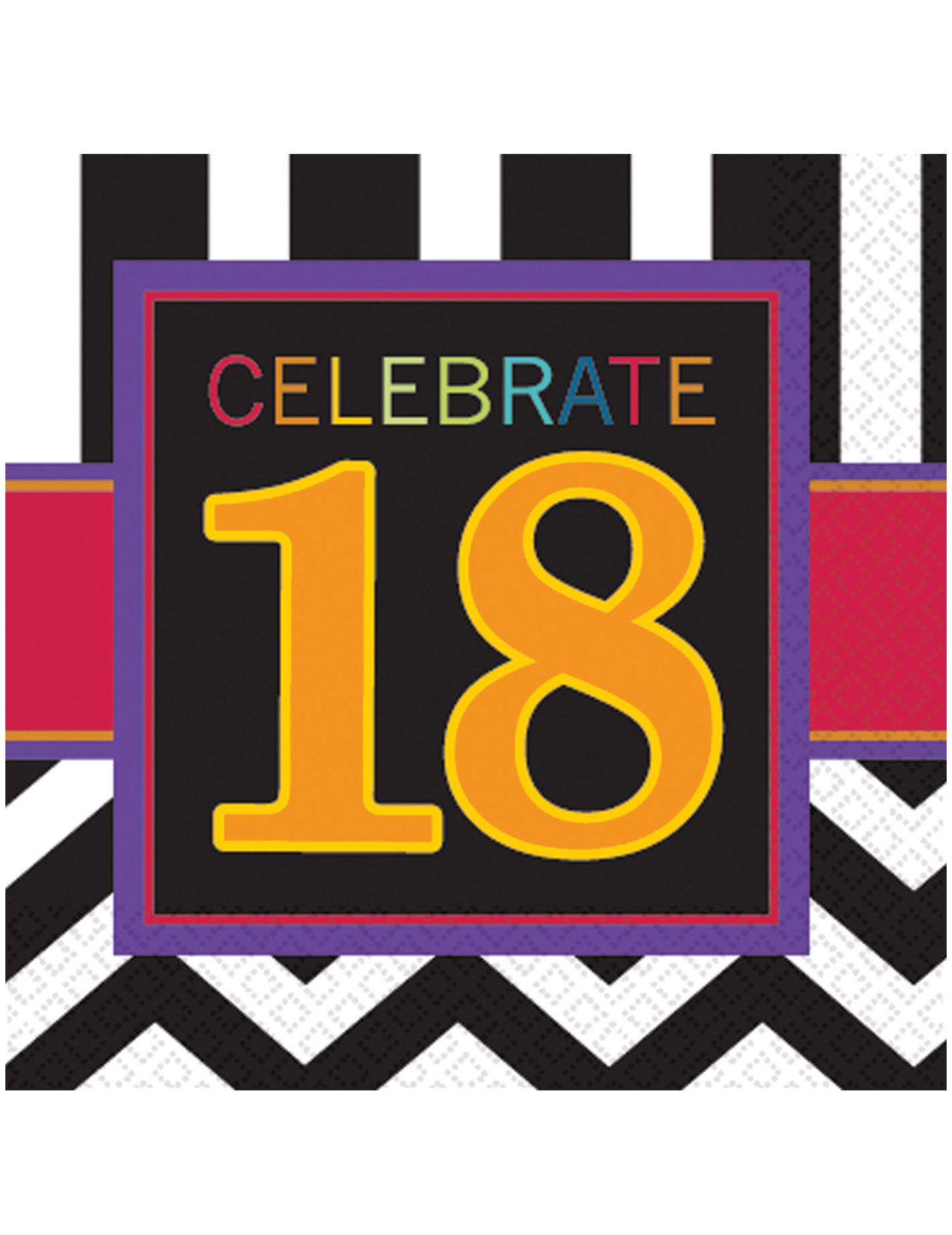 18 geburtstag party deko