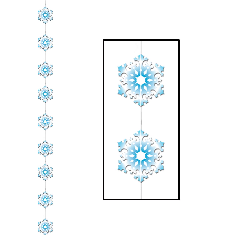 Weihnachtsdeko schneeflocken blau weiss g nstige - Weihnachtsdeko blau ...