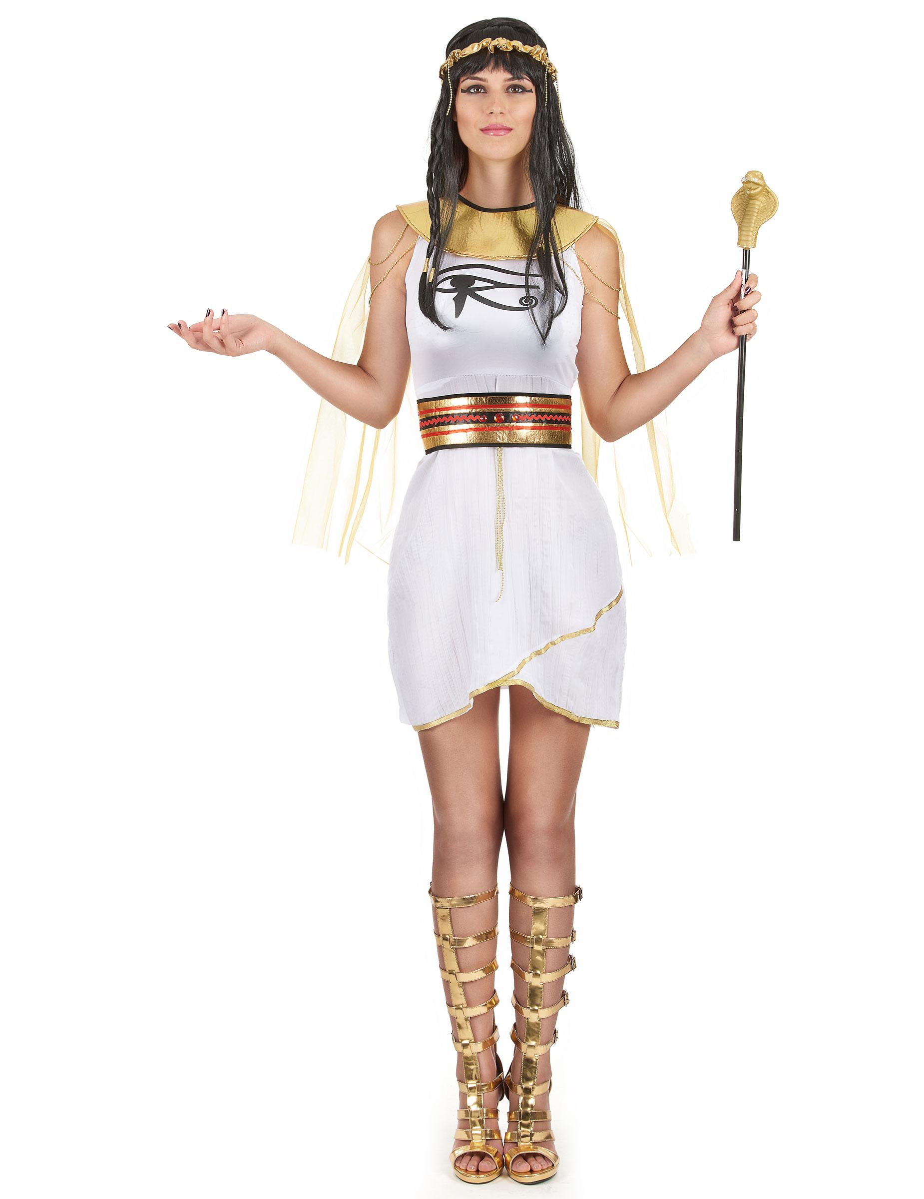 Agypter Damenkostum Weiss Gold Gunstige Faschings Kostume Bei