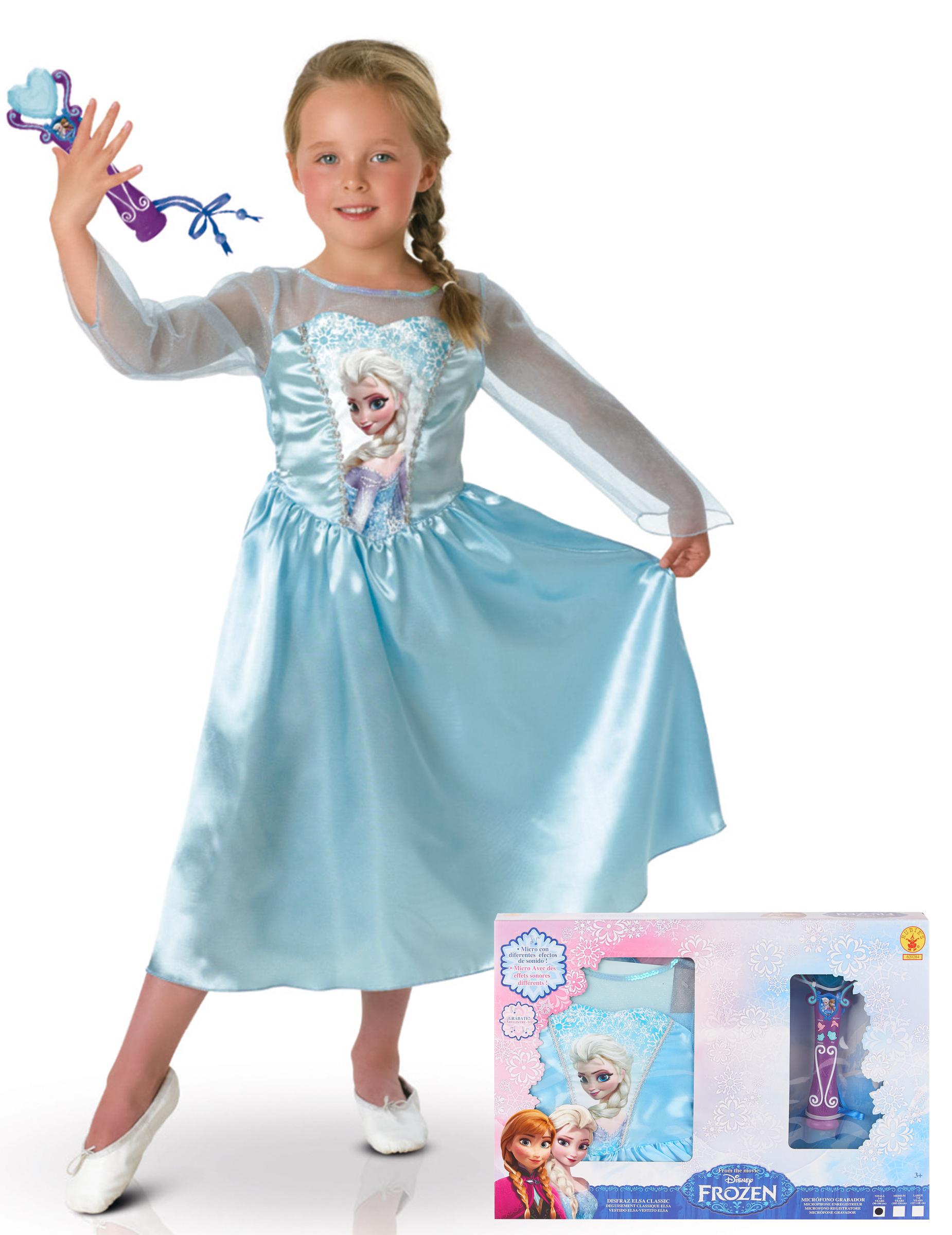 Prinzessin Elsa Kinderkostum Frozen Filmkostum Blau Gunstige