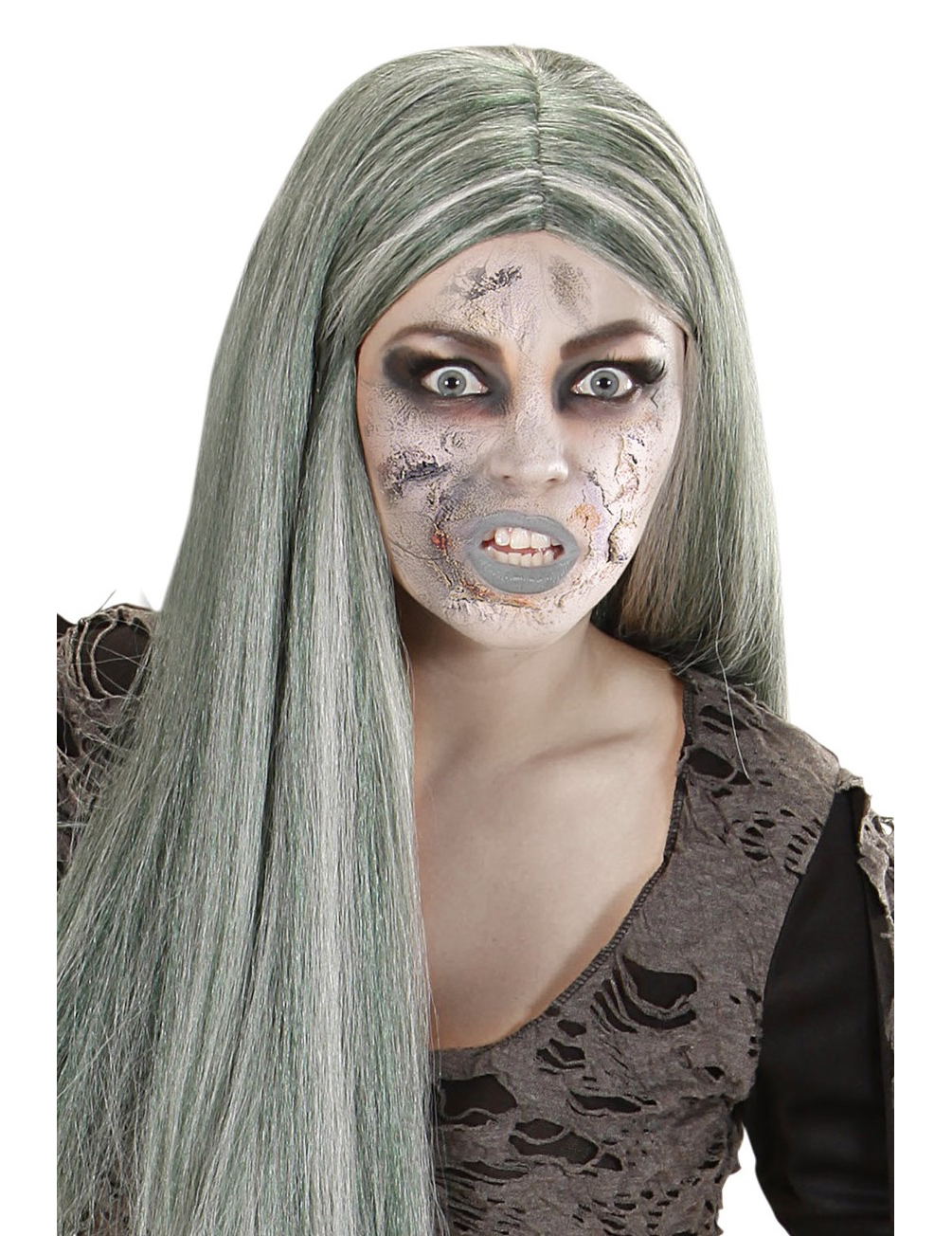zombie haut halloween make up braun 7 2ml g nstige faschings make up bei karneval megastore. Black Bedroom Furniture Sets. Home Design Ideas