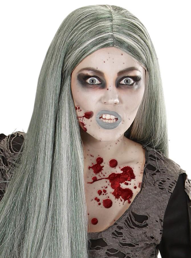 halloween schminkset zombie make up mit kunstblut 8 teilig. Black Bedroom Furniture Sets. Home Design Ideas