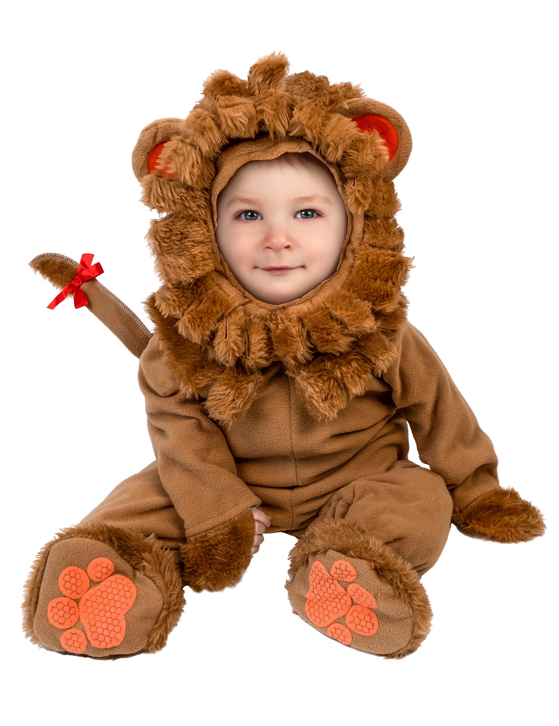 Susser Lowe Babykostum Braun Gunstige Faschings Kostume Bei