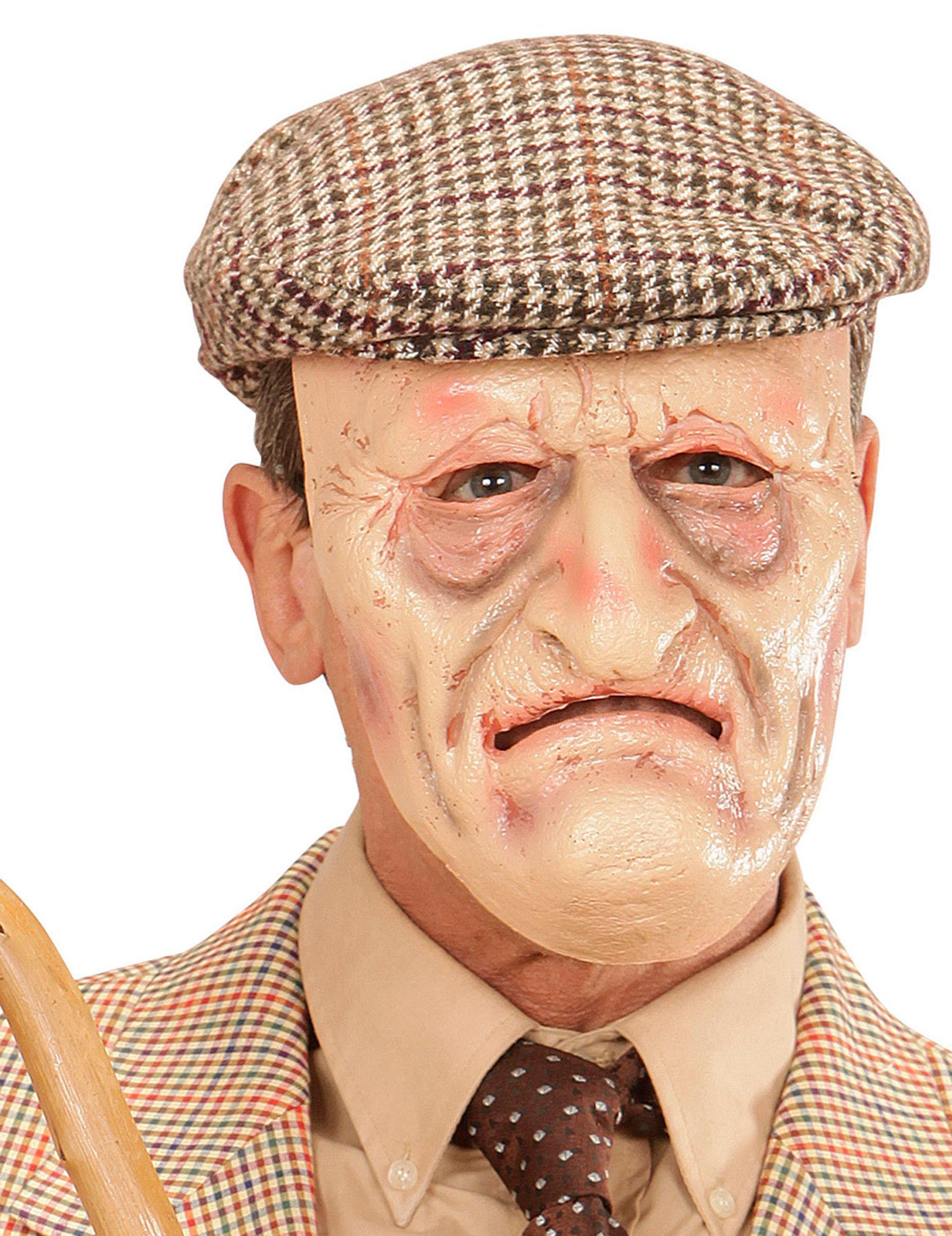 alter opa maske f r erwachsene g nstige faschings masken bei karneval megastore. Black Bedroom Furniture Sets. Home Design Ideas