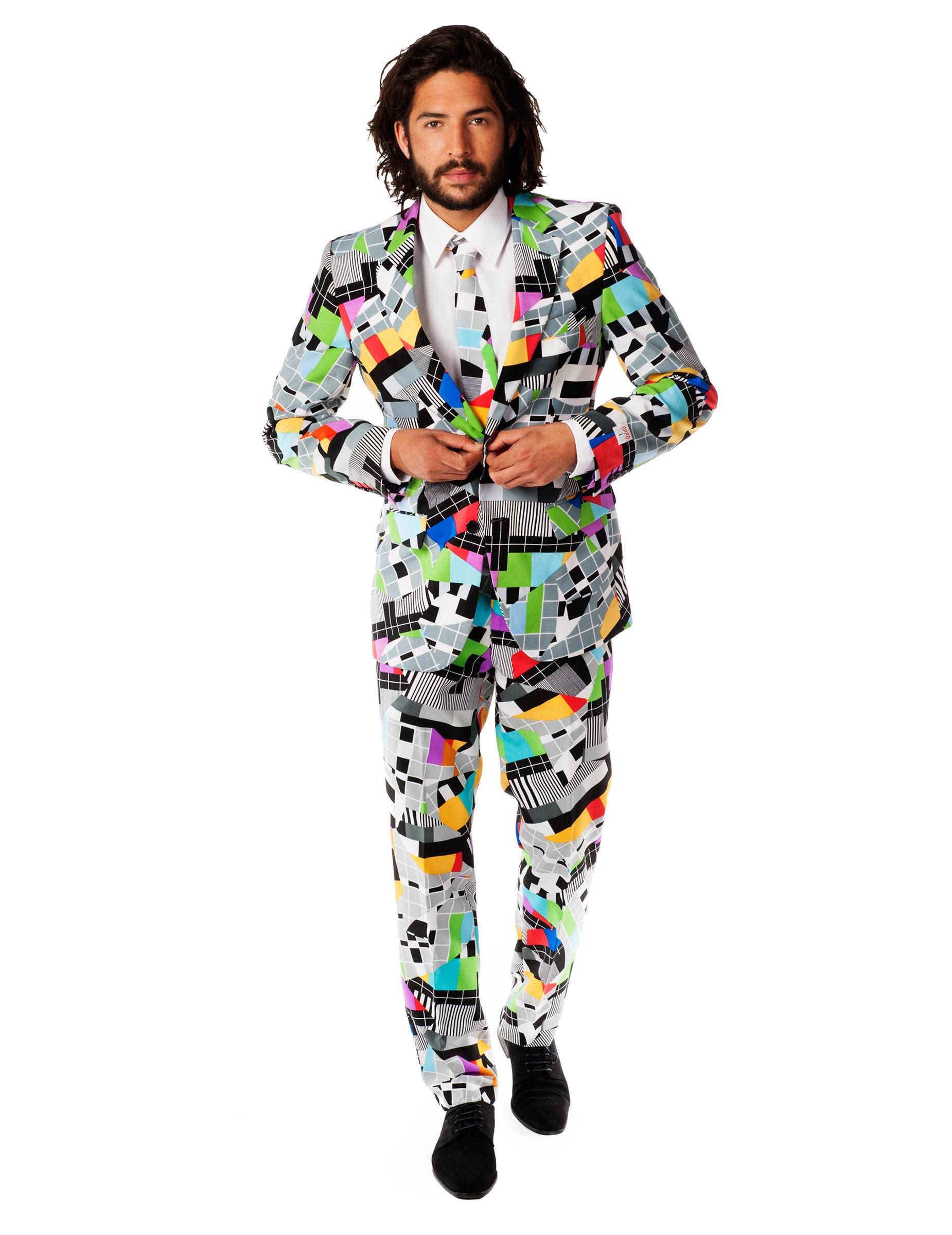 Brandneu doppelter gutschein echte Schuhe Testival - Opposuits-Anzug bunt