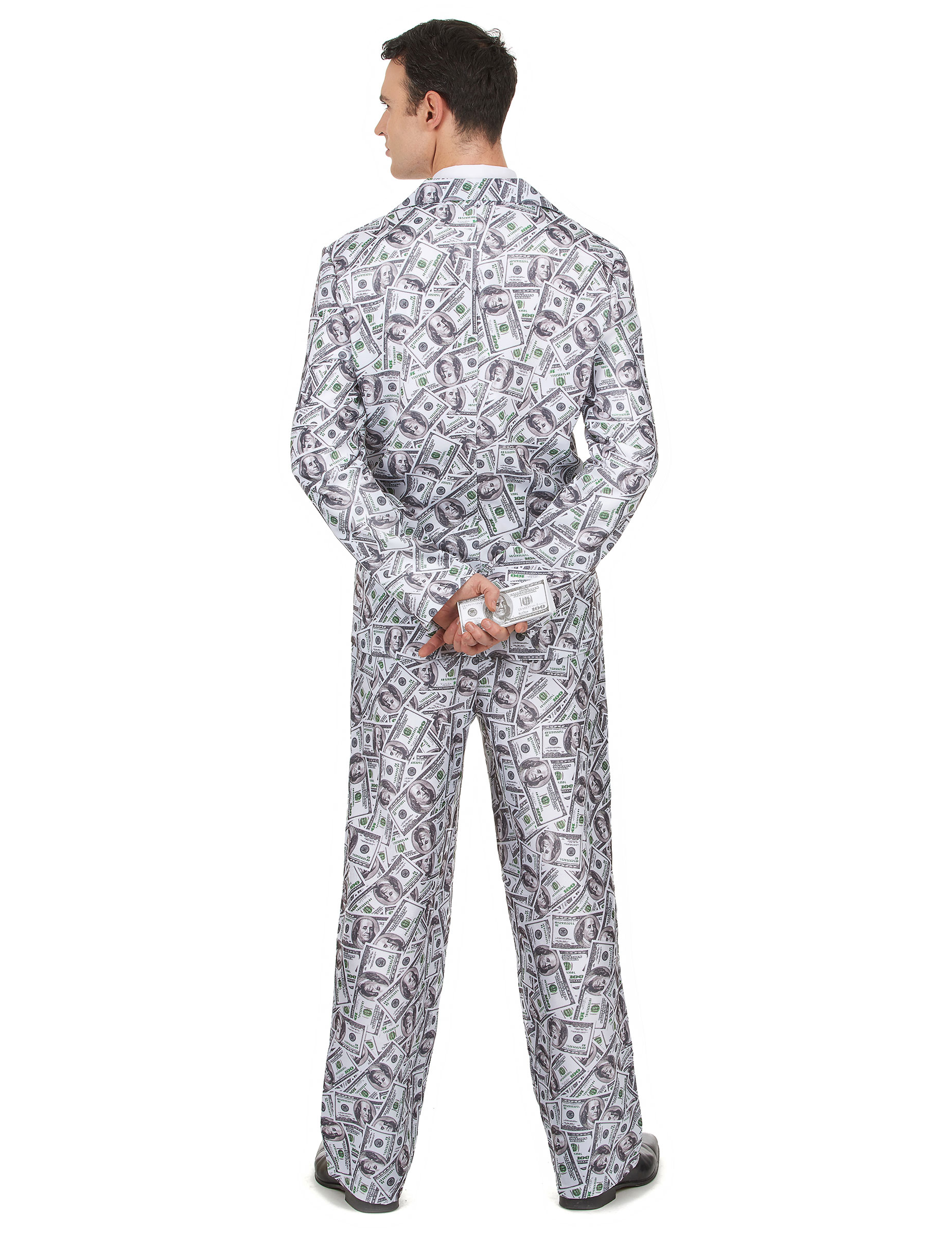 geldschein anzug dollar mann kost m weiss grau gr n g nstige faschings kost me bei karneval. Black Bedroom Furniture Sets. Home Design Ideas