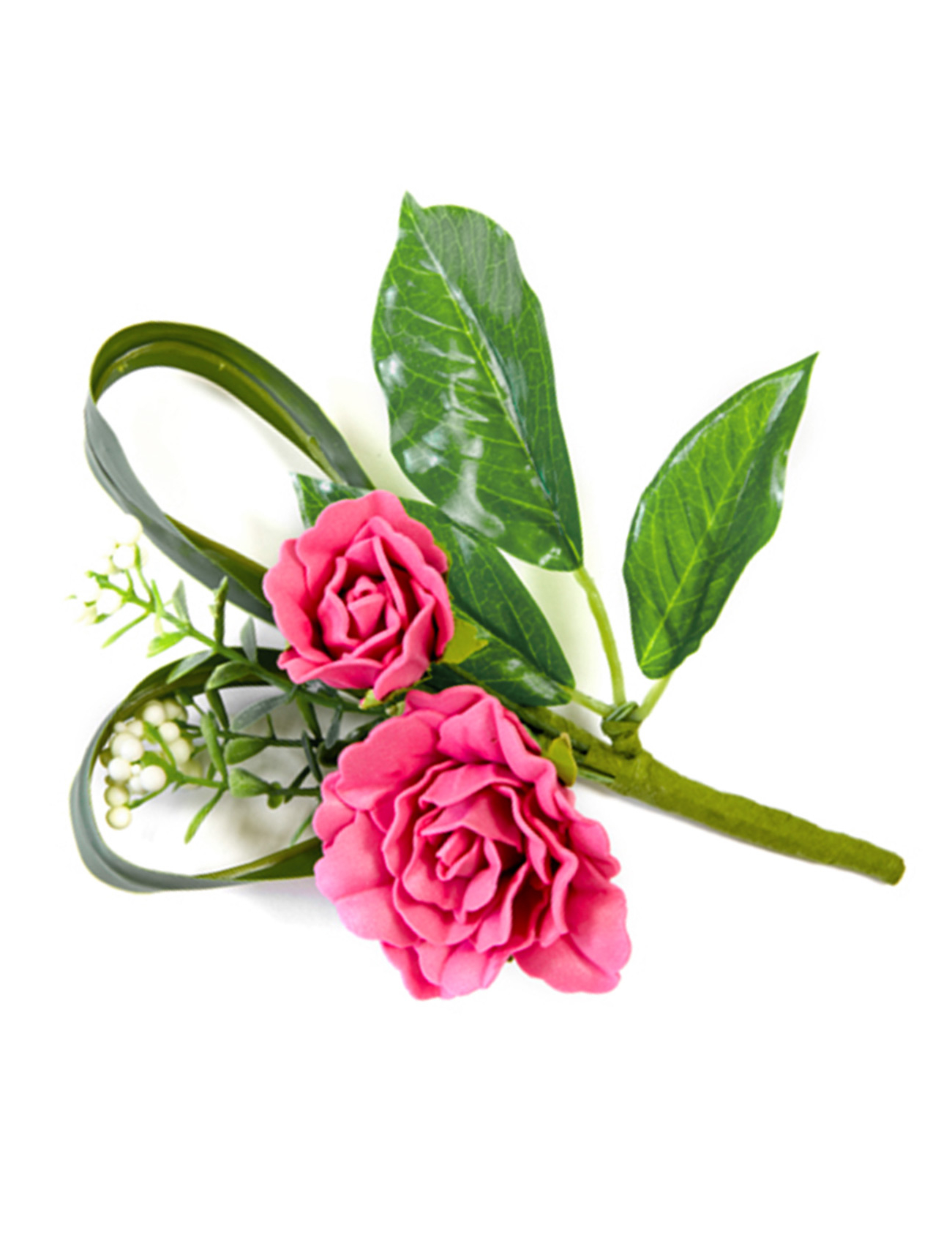 rosen blumenstrau dekoration kunstblume pink gr n. Black Bedroom Furniture Sets. Home Design Ideas