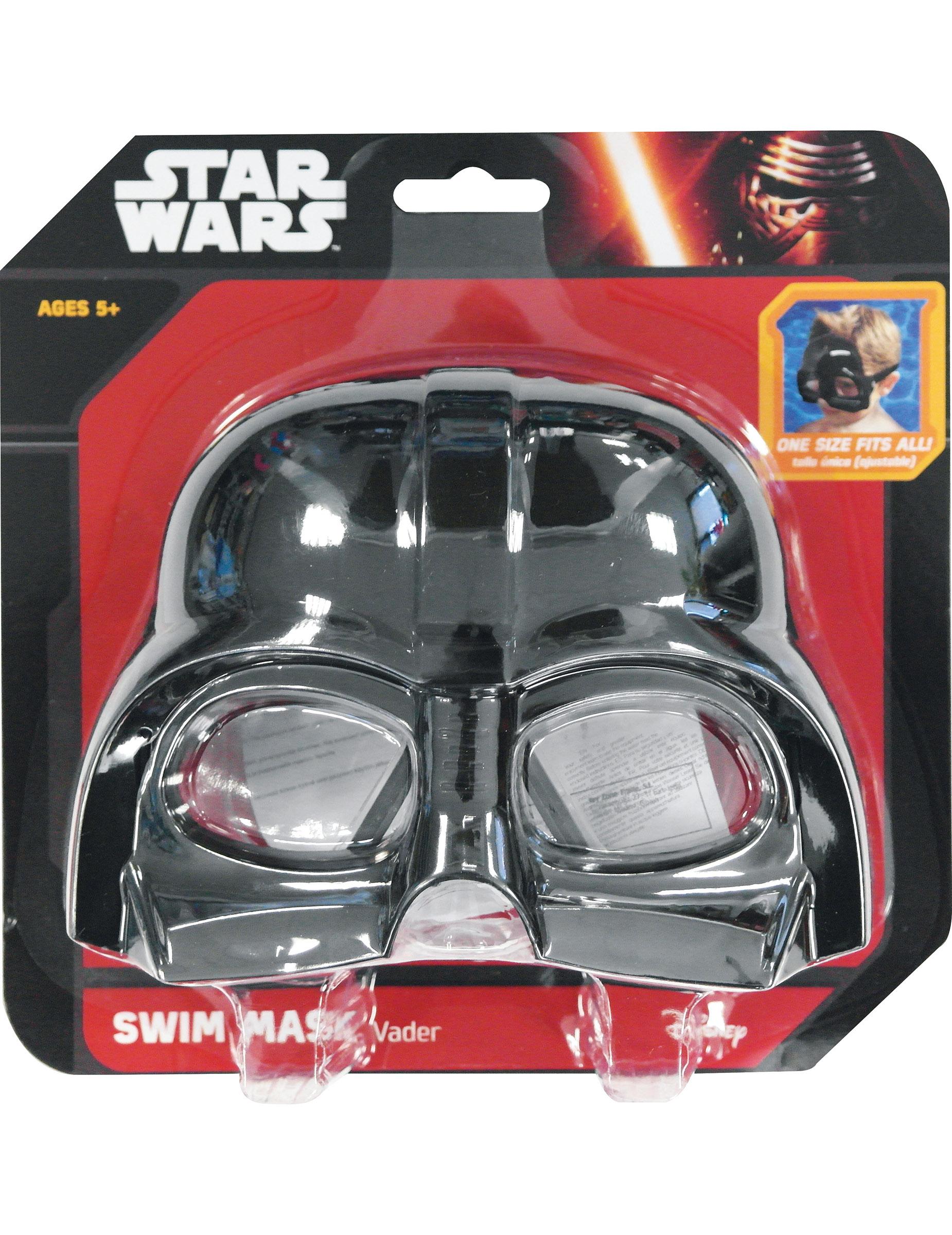 Star Wars Taucherbrille Fur Kinder Darth Vader Schwarz Gunstige