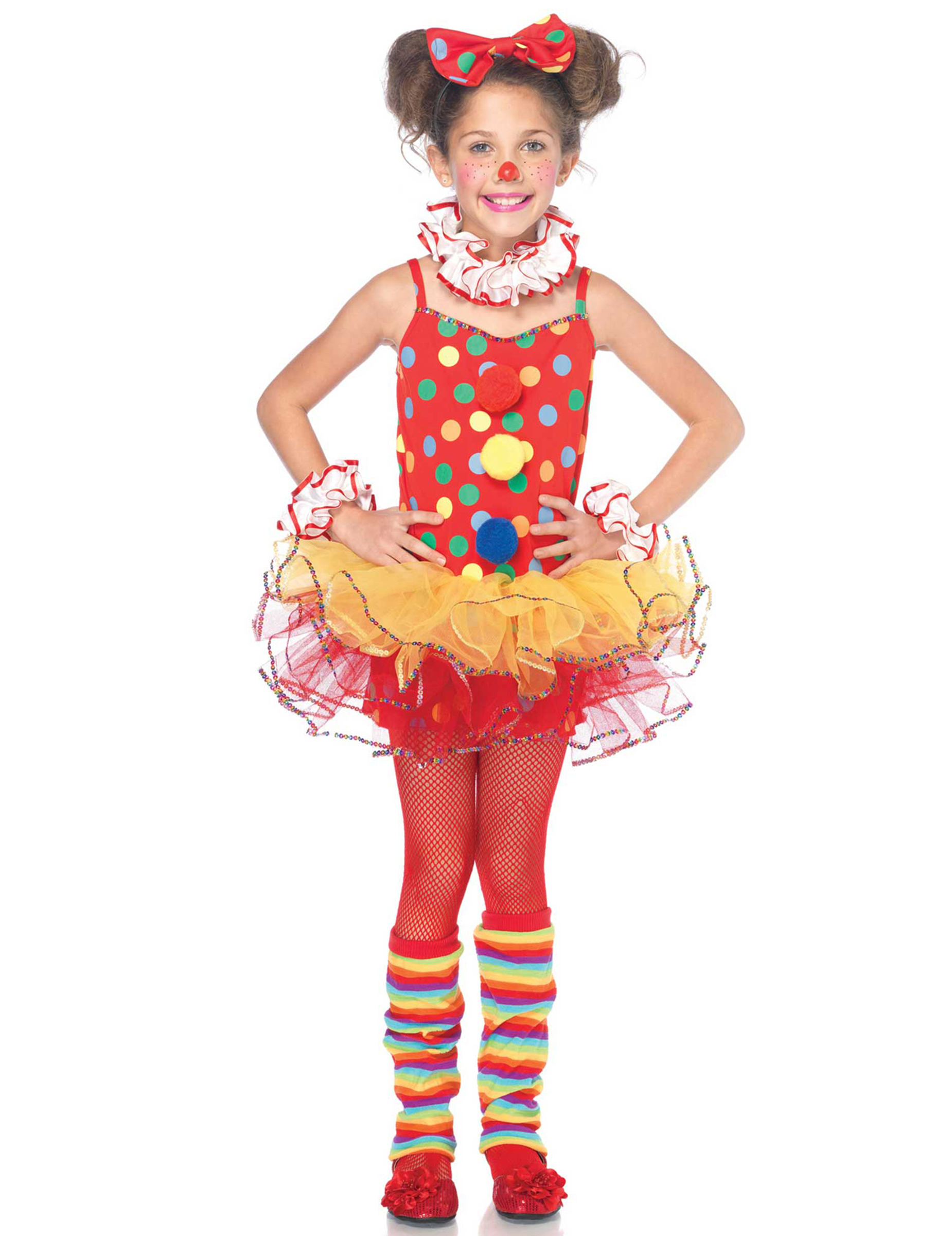 Zirkus Clown Kinderkostum Rot Bunt Gunstige Faschings Kostume Bei