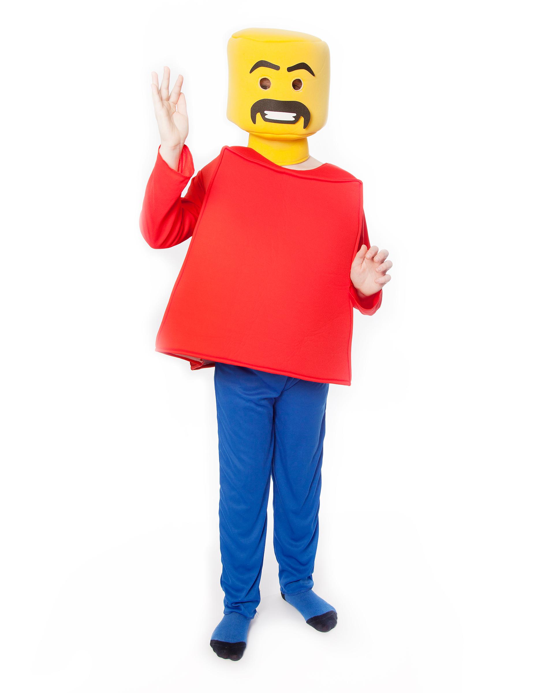 morphsuit spielfigur kinder gelb rot blau g nstige faschings kost me bei karneval megastore. Black Bedroom Furniture Sets. Home Design Ideas