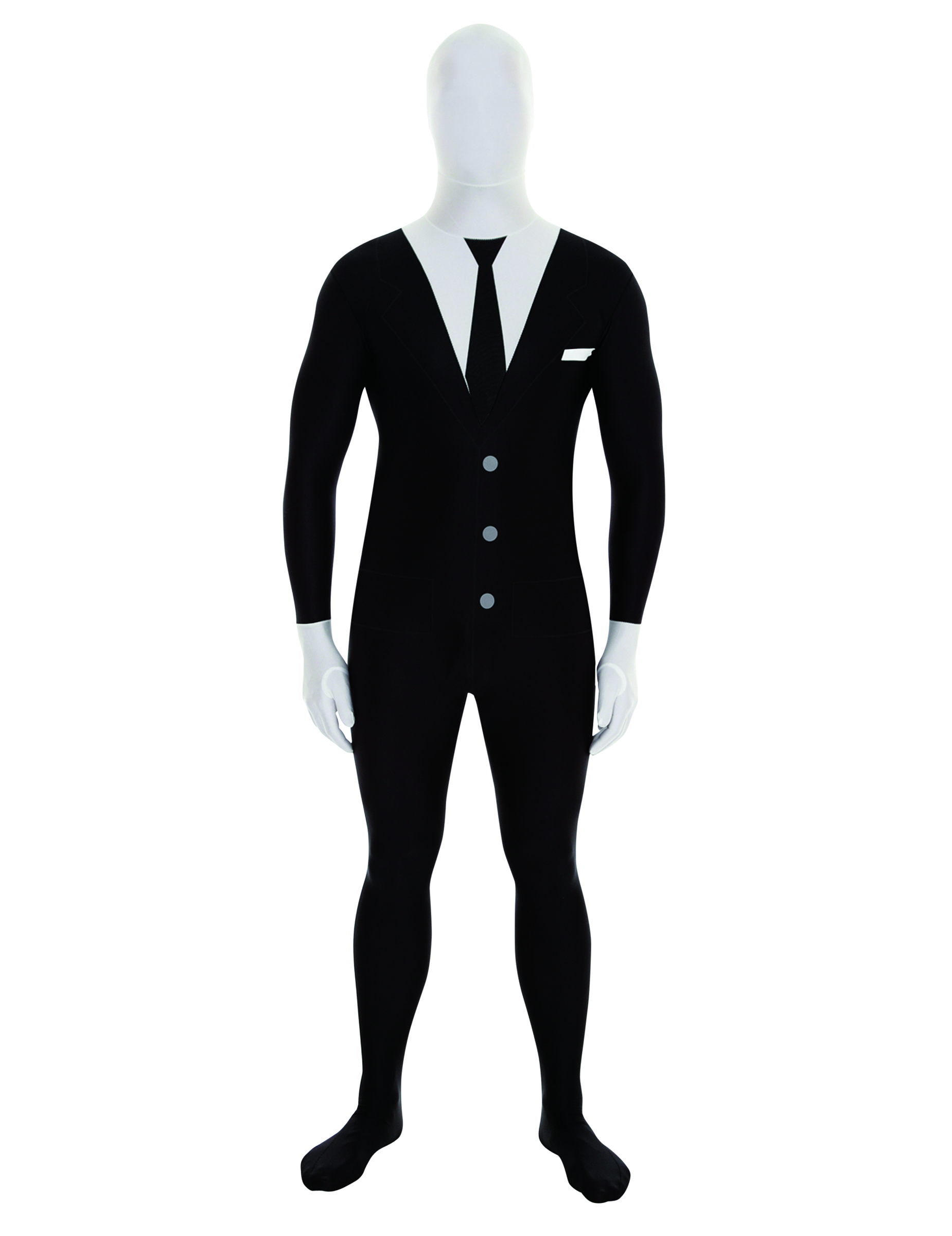 anzug morphsuit tuxedo kost m schwarz weiss g nstige faschings kost me bei karneval megastore. Black Bedroom Furniture Sets. Home Design Ideas