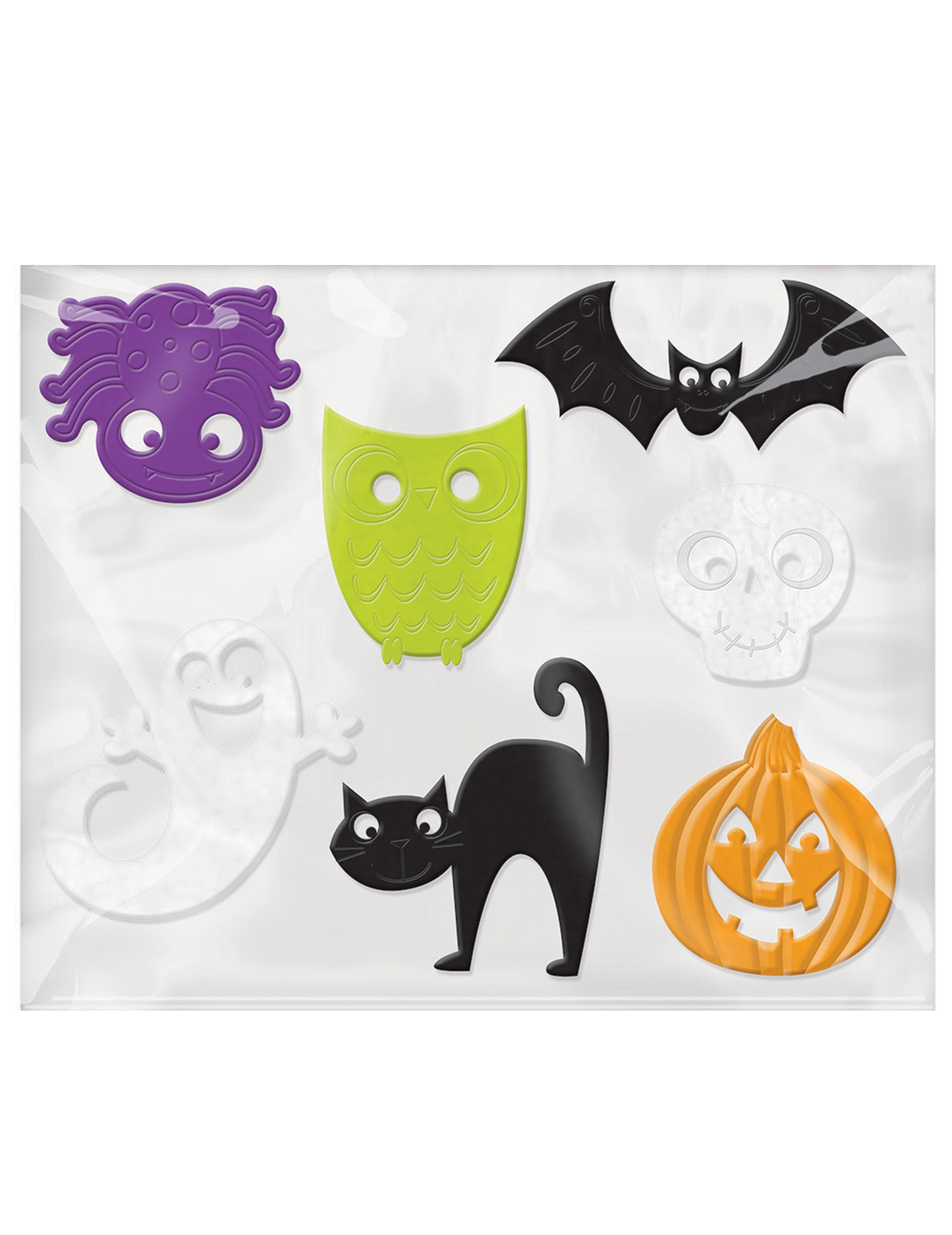 Fensterdekorationen Halloween Deko Fur Kinder 7 Stuck Bunt 5 Bis