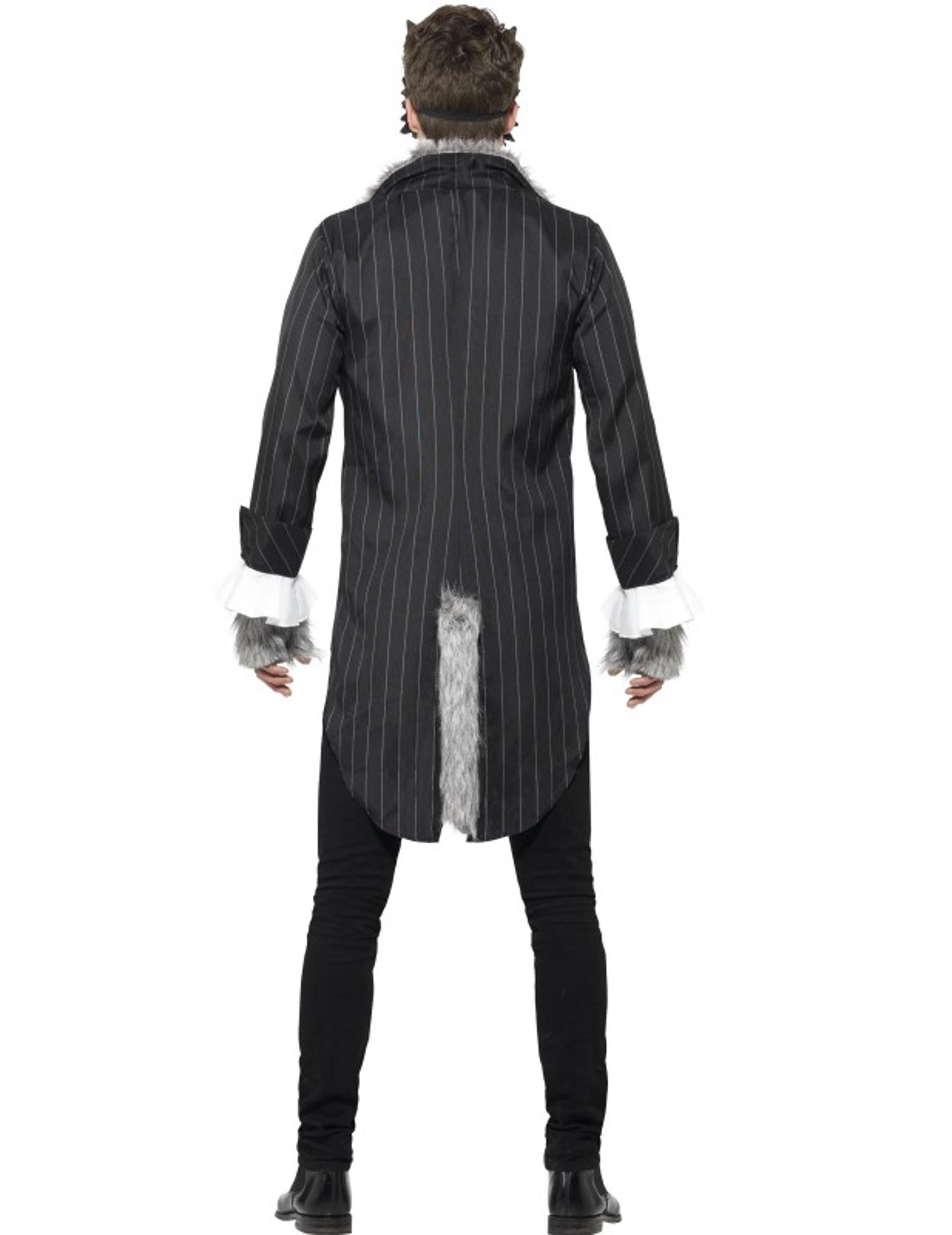werwolf halloween herrenkost m grau g nstige faschings kost me bei karneval megastore. Black Bedroom Furniture Sets. Home Design Ideas