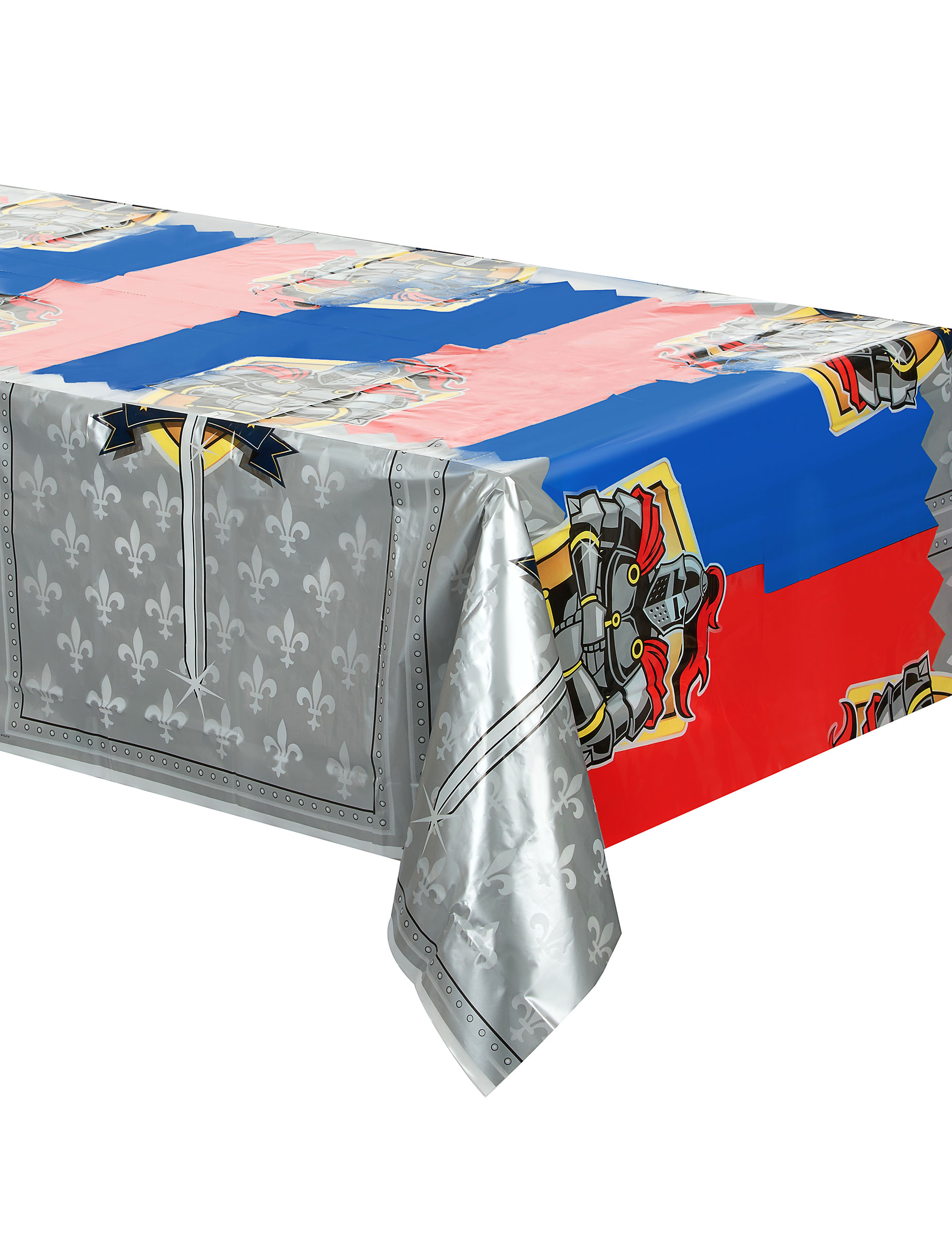 ritter kunststoff tischdecke 130 x 180 cm g nstige faschings partydeko zubeh r bei karneval. Black Bedroom Furniture Sets. Home Design Ideas