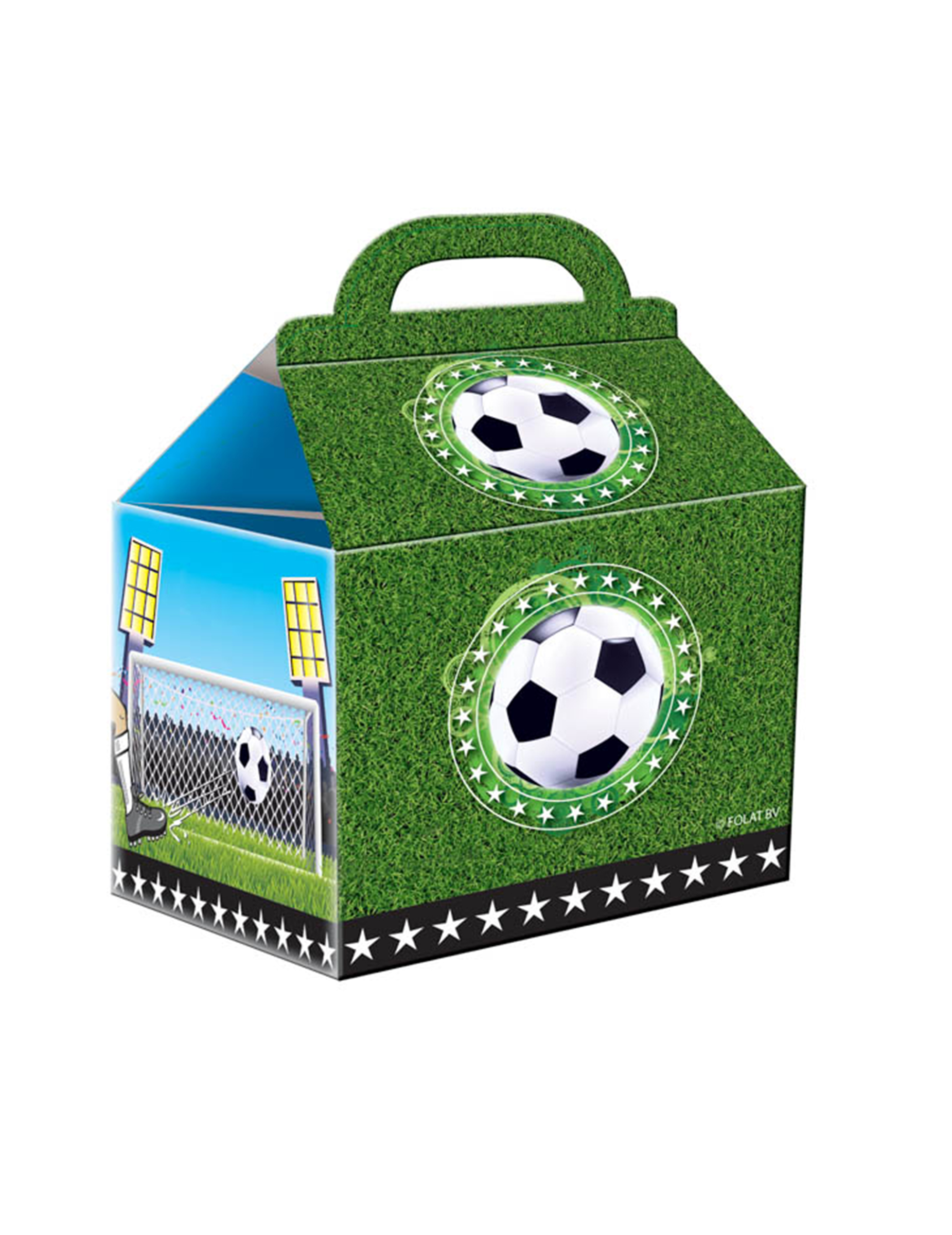 fussball partyt ten party deko 4 st ck bunt 18x10cm. Black Bedroom Furniture Sets. Home Design Ideas