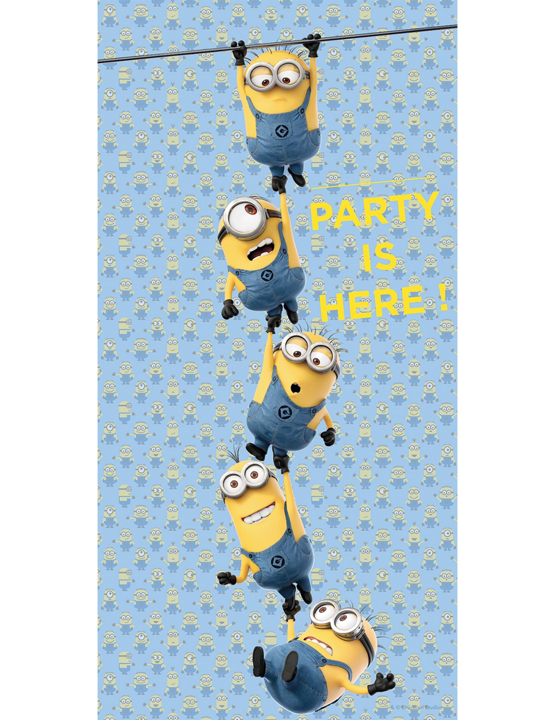 Poster t rdeko party lizenzartikel minions 75x150 cm g nstige faschings partydeko zubeh r - Halloween turdeko ...
