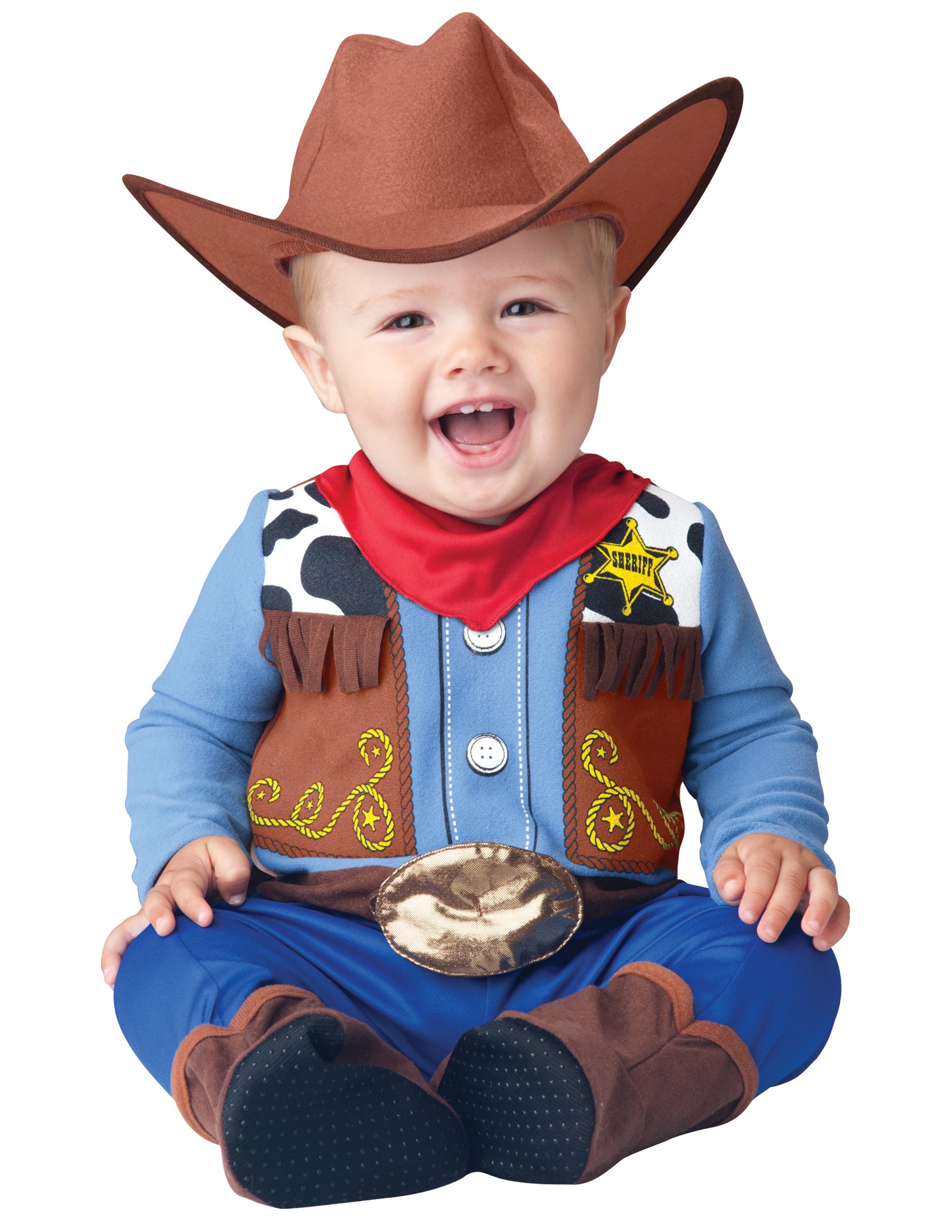 Cowboy Babykostum Kleiner Sheriff Bunt Gunstige Faschings Kostume