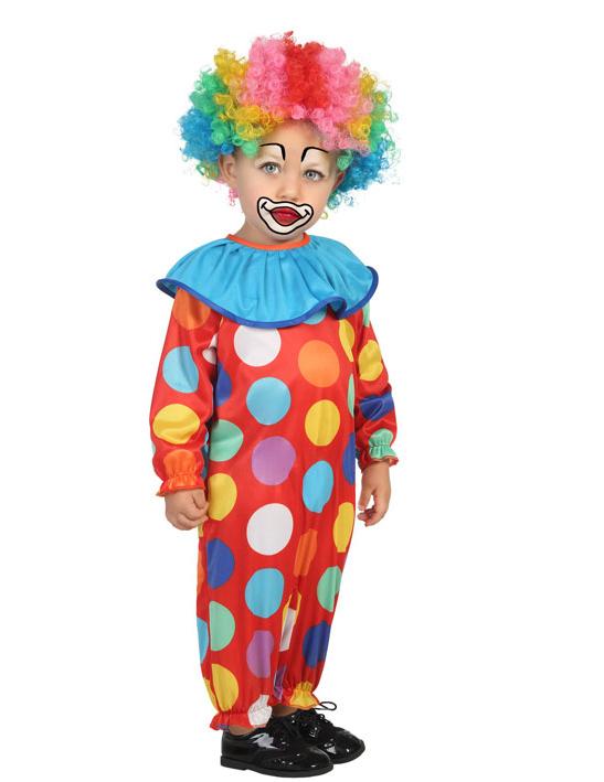 Super Rabatt neu authentisch perfekte Qualität Clown Kostüm gepunktet für Kleinkinder