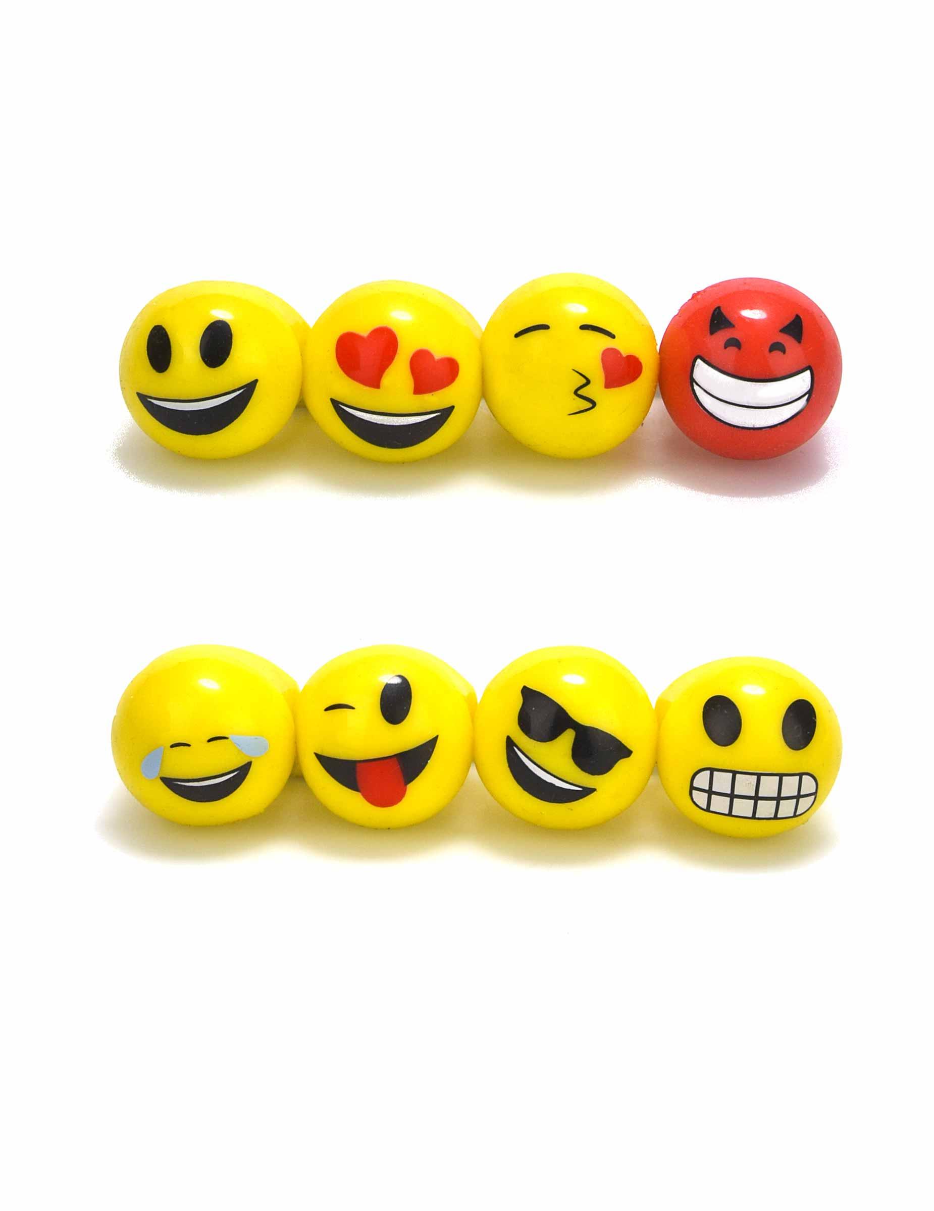 Emoji Led Ring Lizenzartikel Bunt Gunstige Faschings Accessoires