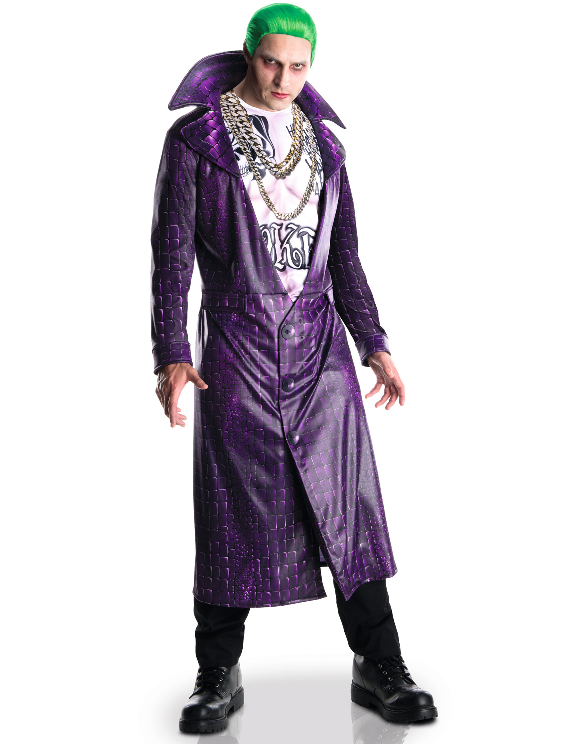 Suicide Squad Joker Kostum Lizenzware Lila Gunstige Faschings