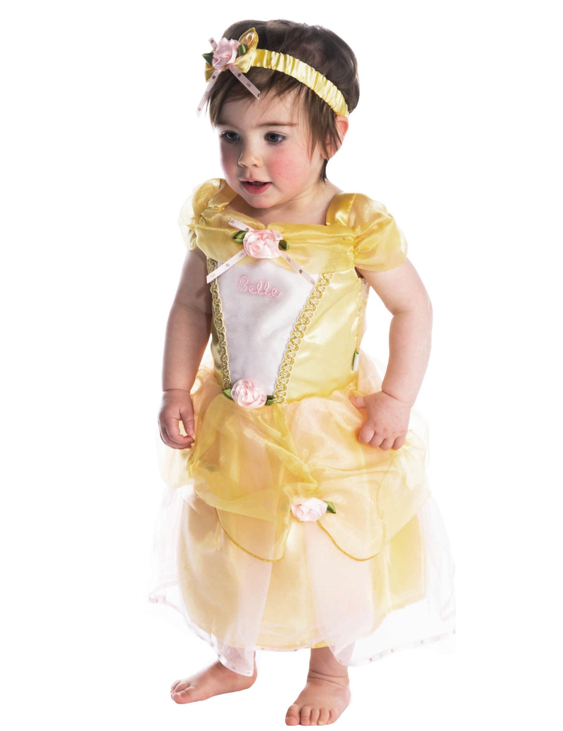 disney belle prinzessin babykost m lizenzware gelb g nstige faschings kost me bei karneval. Black Bedroom Furniture Sets. Home Design Ideas