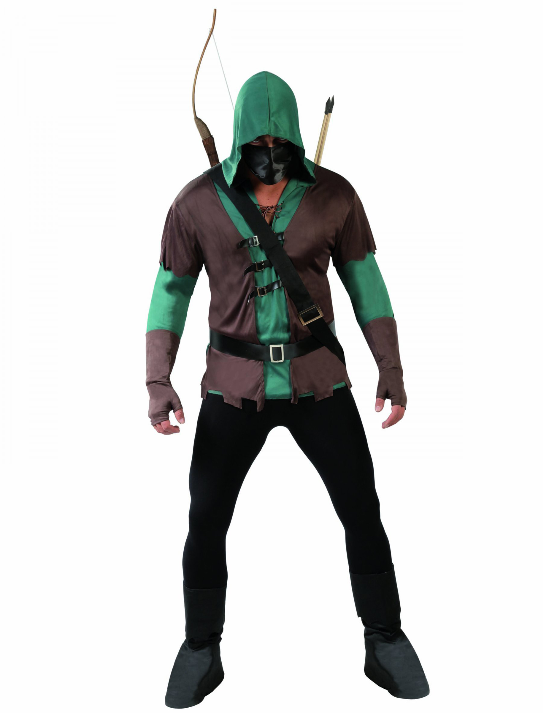 Mittelalter Bogenschutze Kostum Jager Grun Braun Gunstige