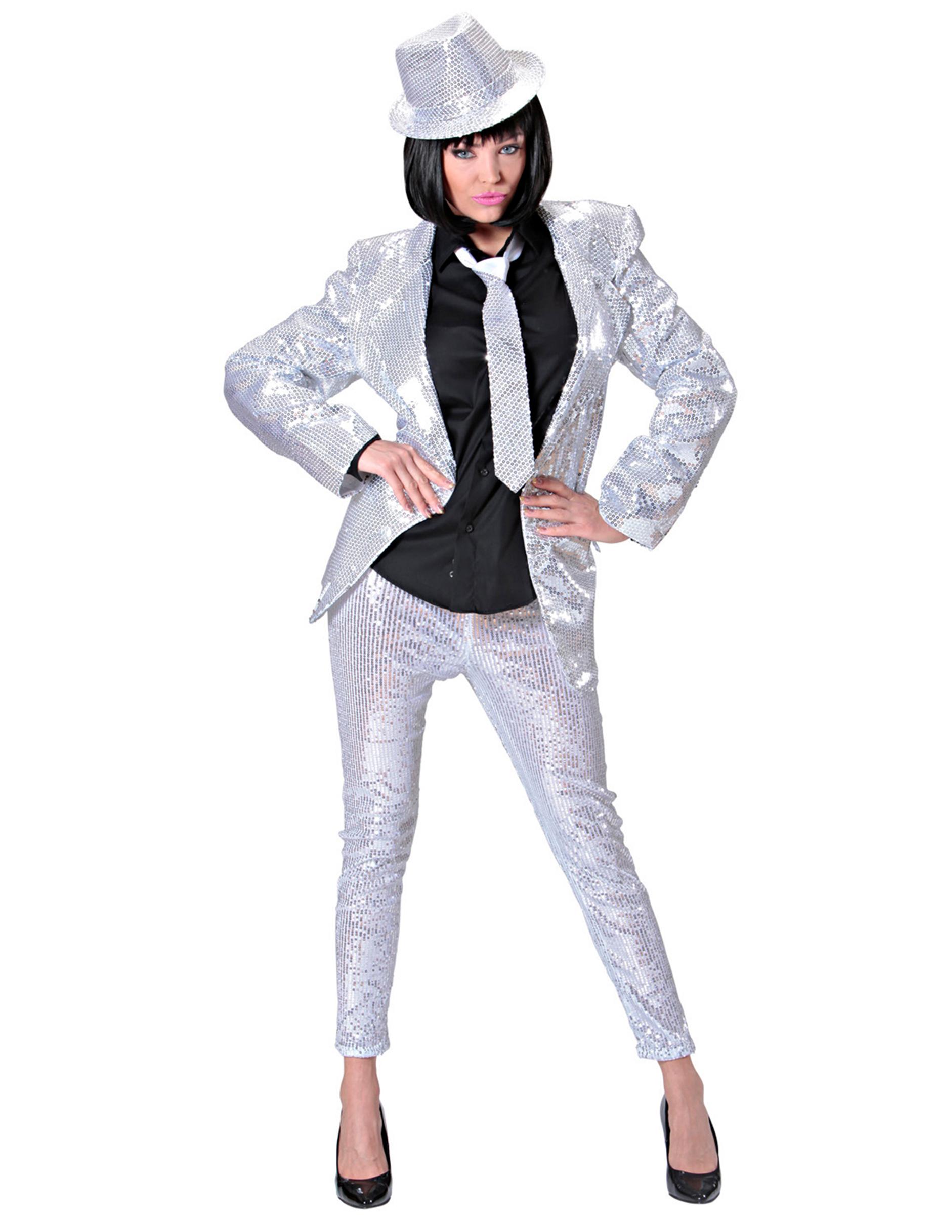 elegante pailletten leggings partyleggings silber. Black Bedroom Furniture Sets. Home Design Ideas