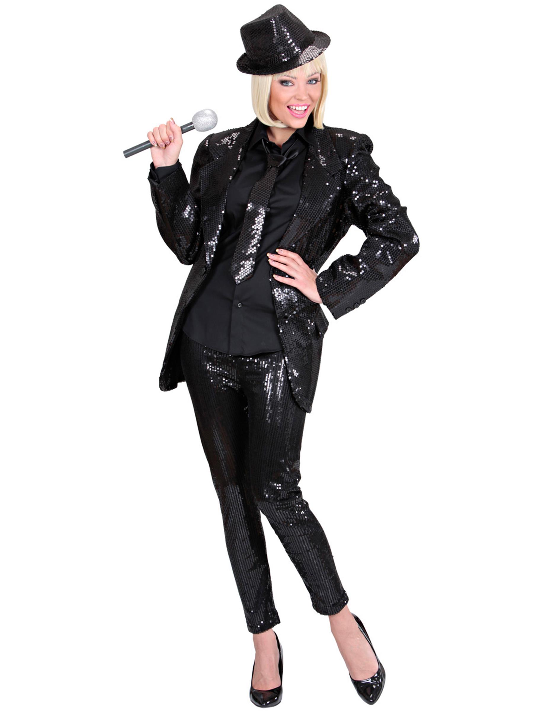 elegante pailletten leggings partyleggings schwarz g nstige faschings kost me bei karneval. Black Bedroom Furniture Sets. Home Design Ideas
