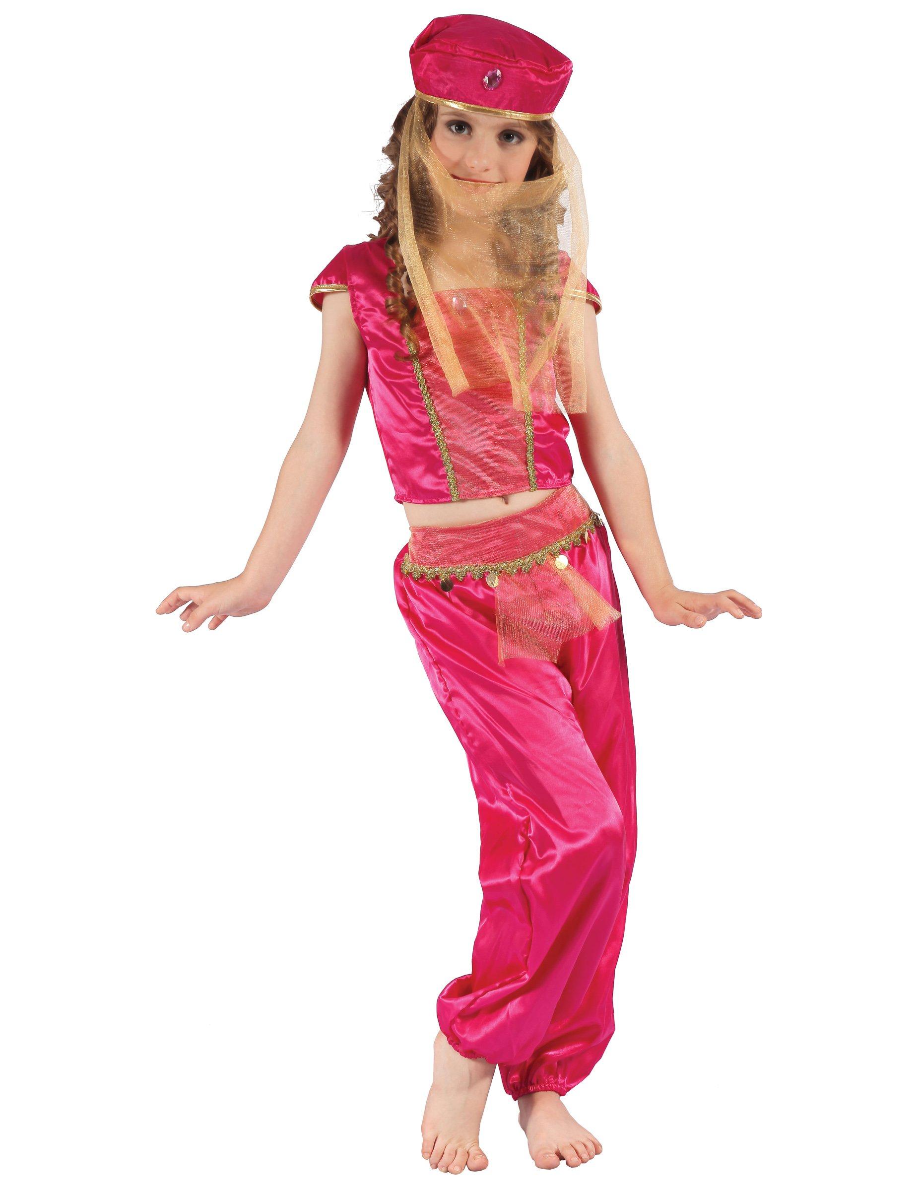 Susse Orientalische Tanzerin Kinderkostum Pink Gunstige Faschings