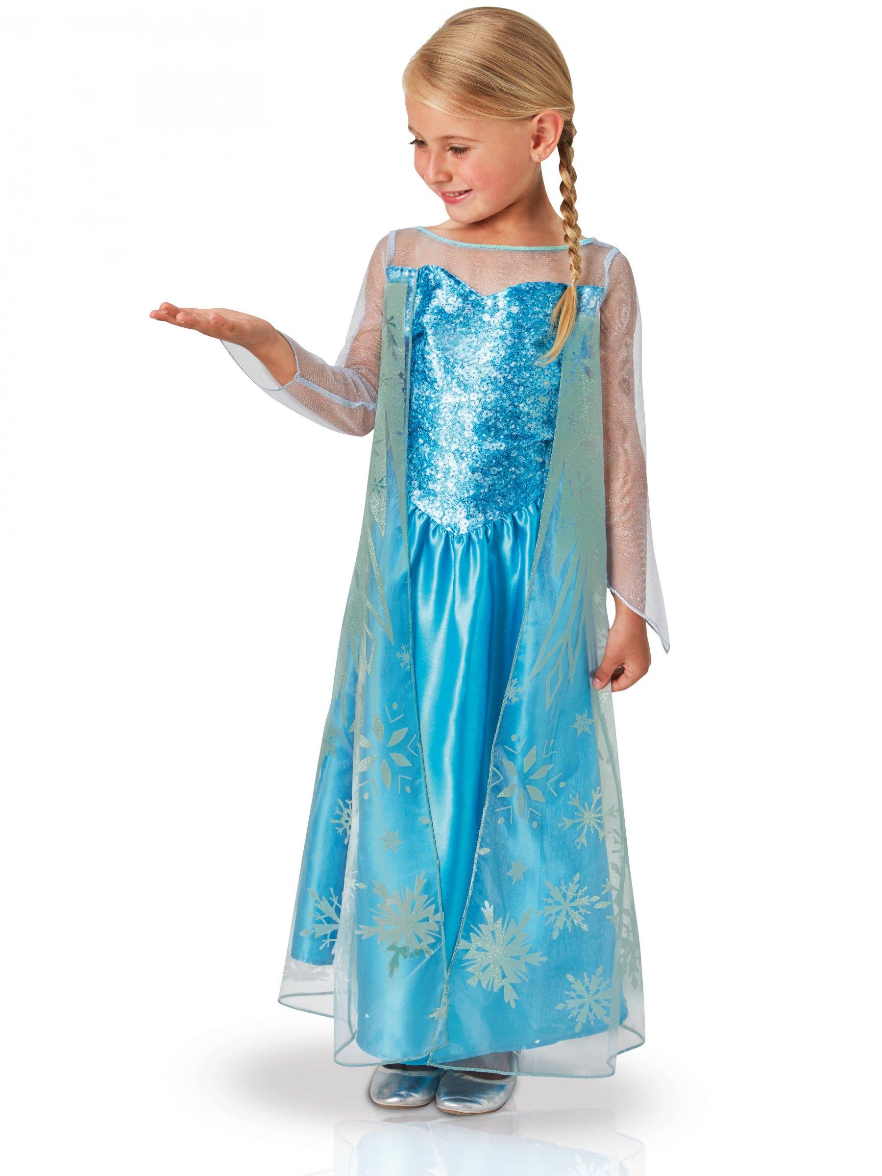 Disney Frozen Die Eiskonigin Elsa Kostum Fur Madchen