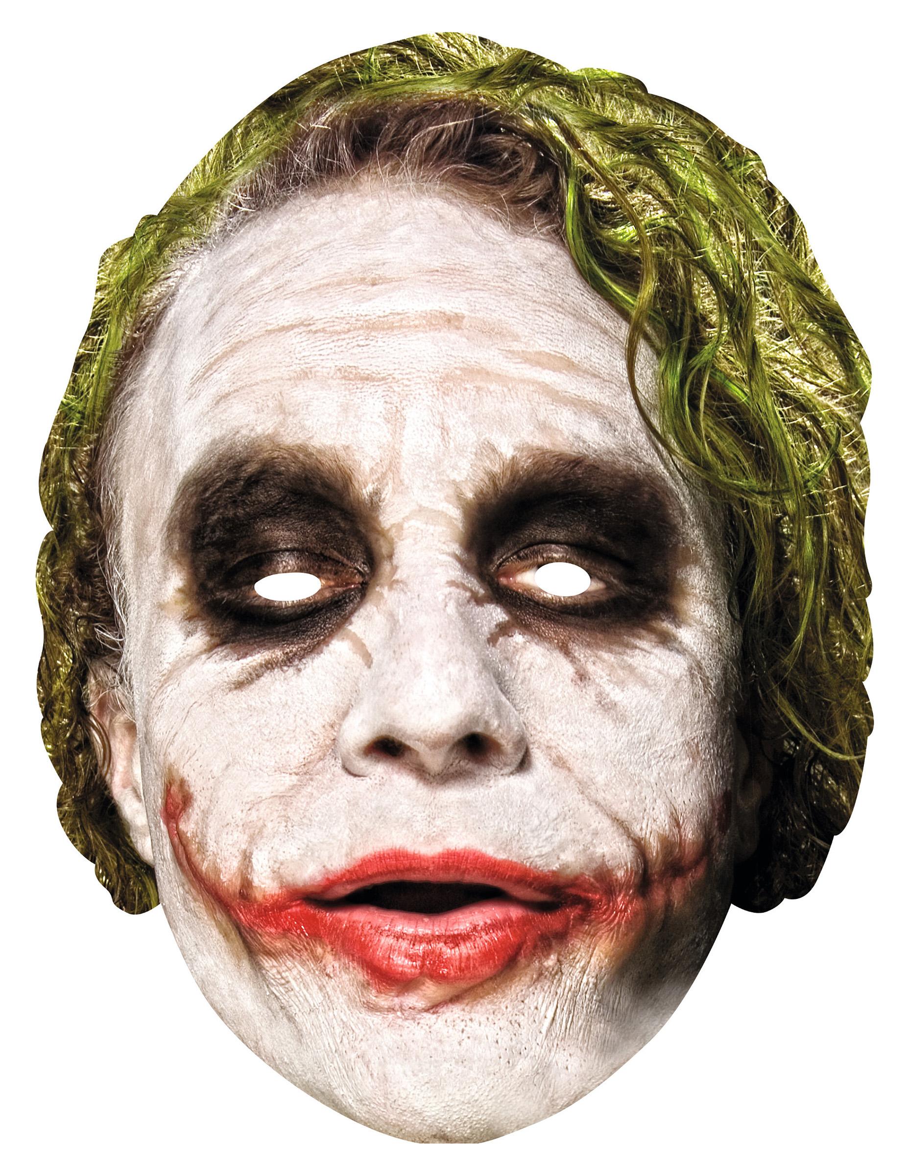 Joker Maske The Dark Knight Maske Weiss Grun Rot Gunstige